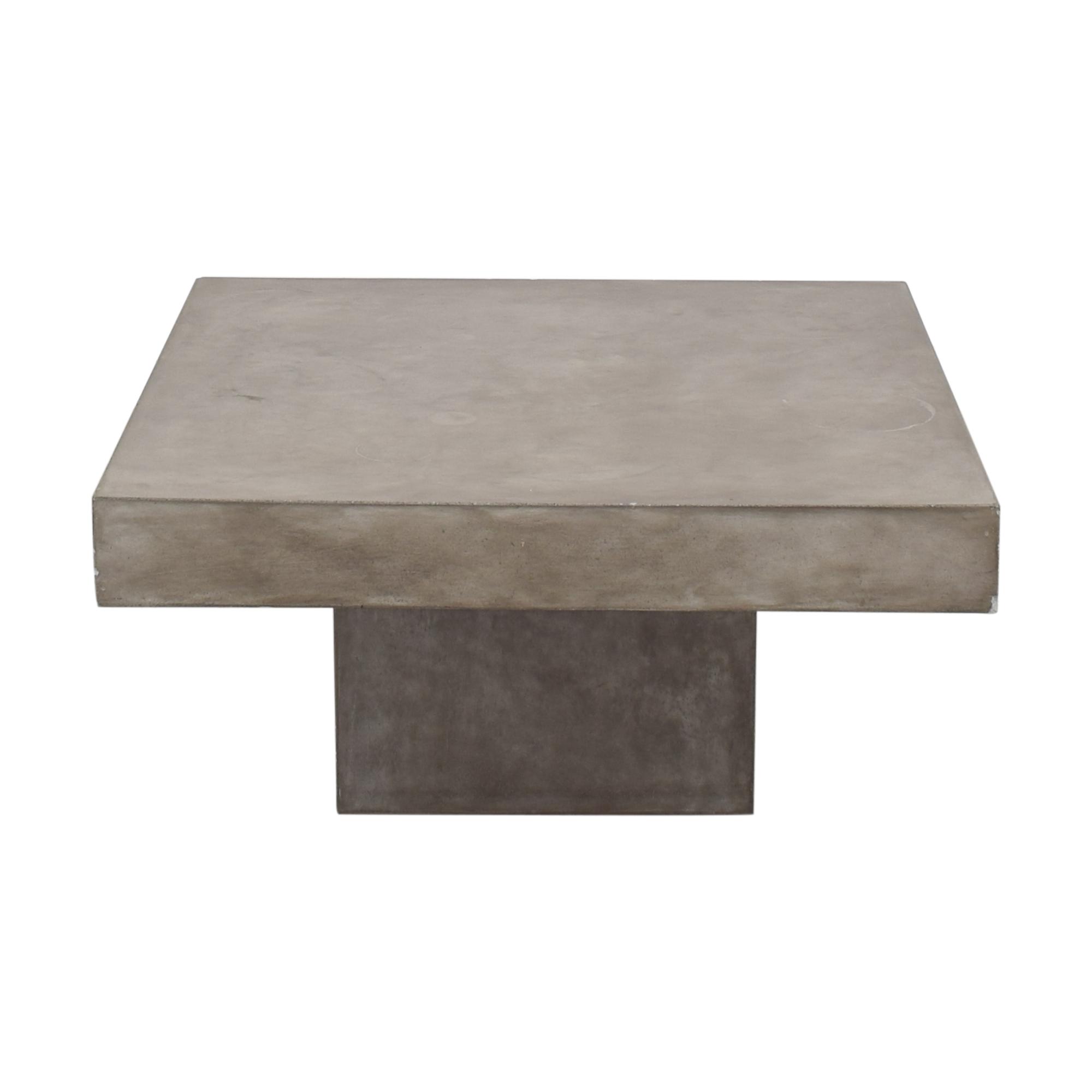 CB2 CB2 Element Square Coffee Table grey
