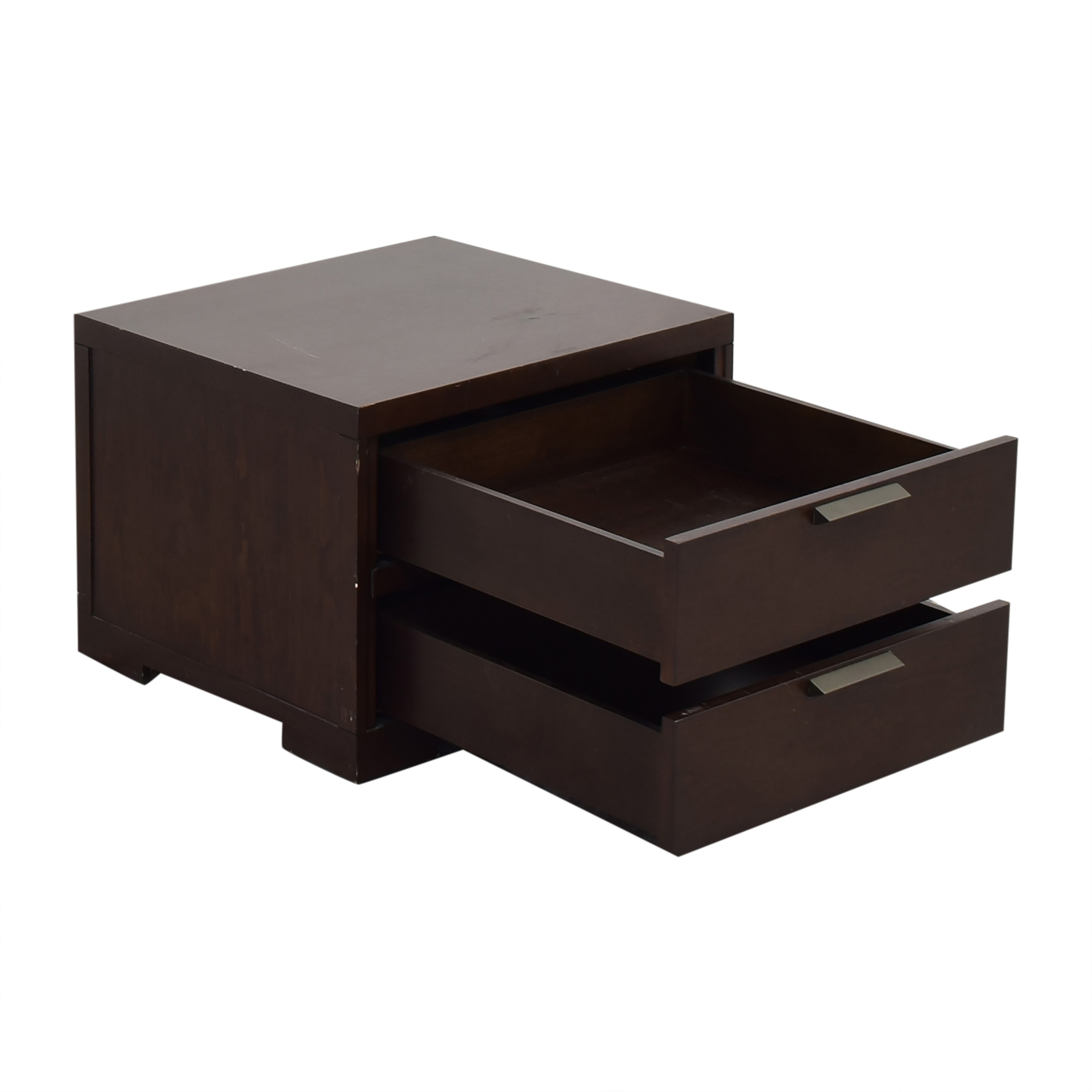 Crate & Barrel Crate & Barrel Asher 2-Drawer Nightstand for sale