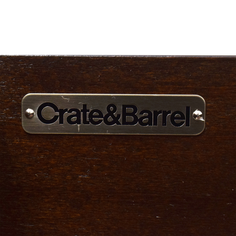 Crate & Barrel Crate & Barrel Asher 2-Drawer Nightstand nj