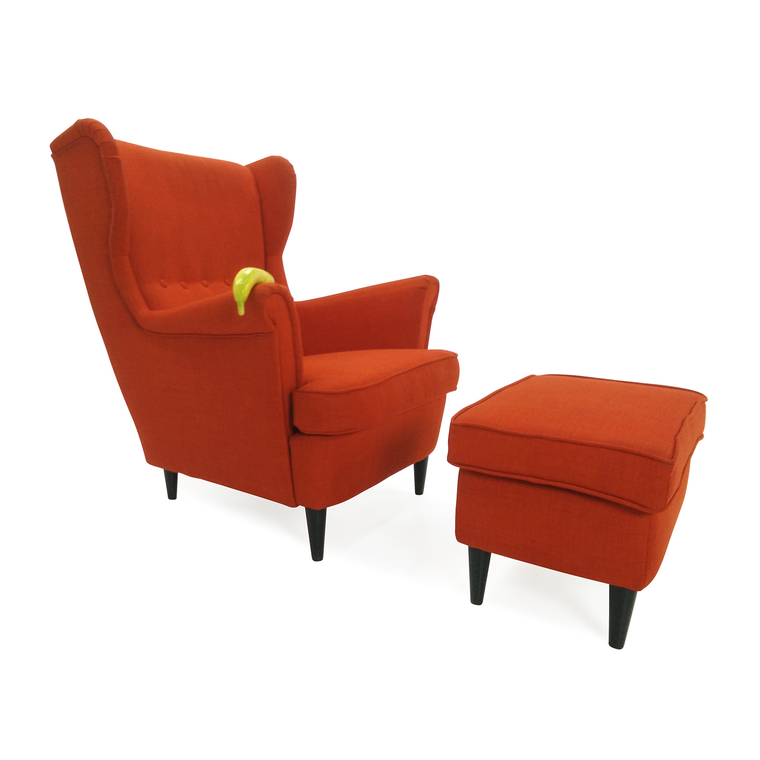 trendy orange furniture ikea ikea vilmar chair the chair s melamine with ikea chaise bercante. Black Bedroom Furniture Sets. Home Design Ideas