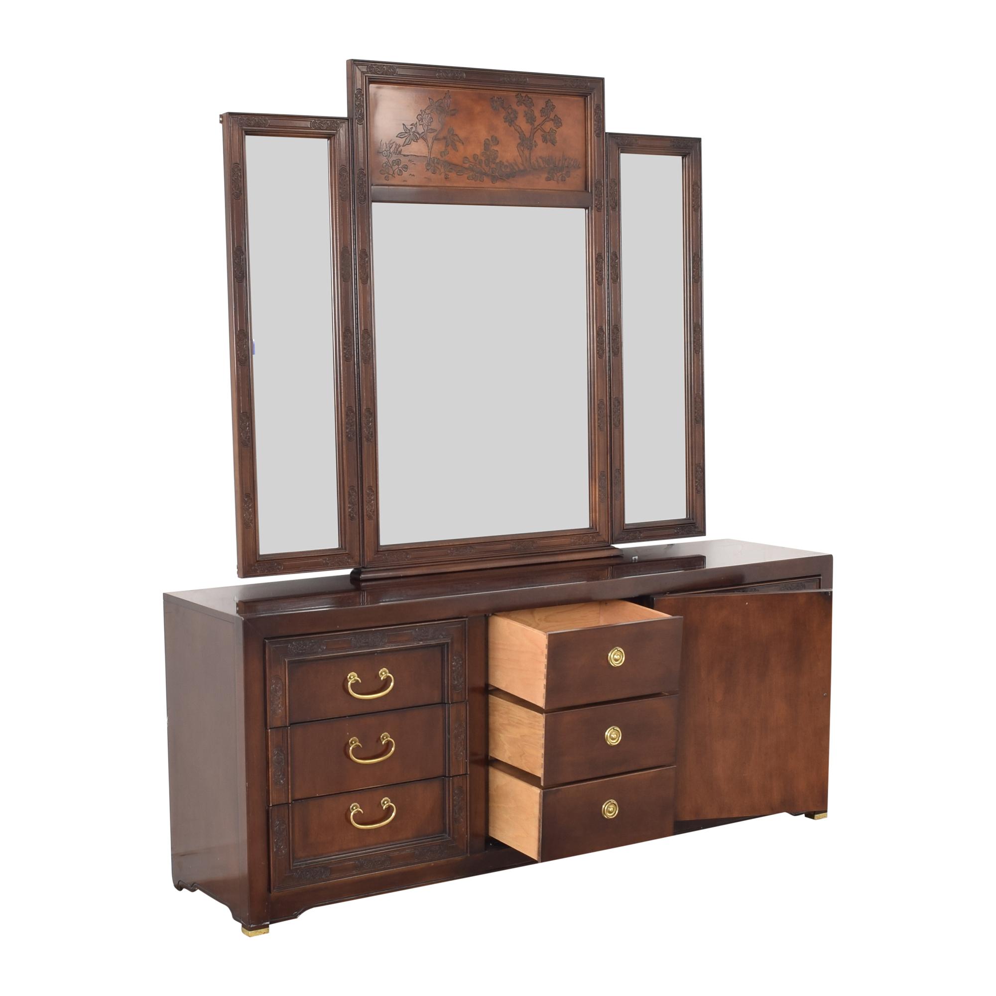 Bernhardt Dresser with Mirror sale