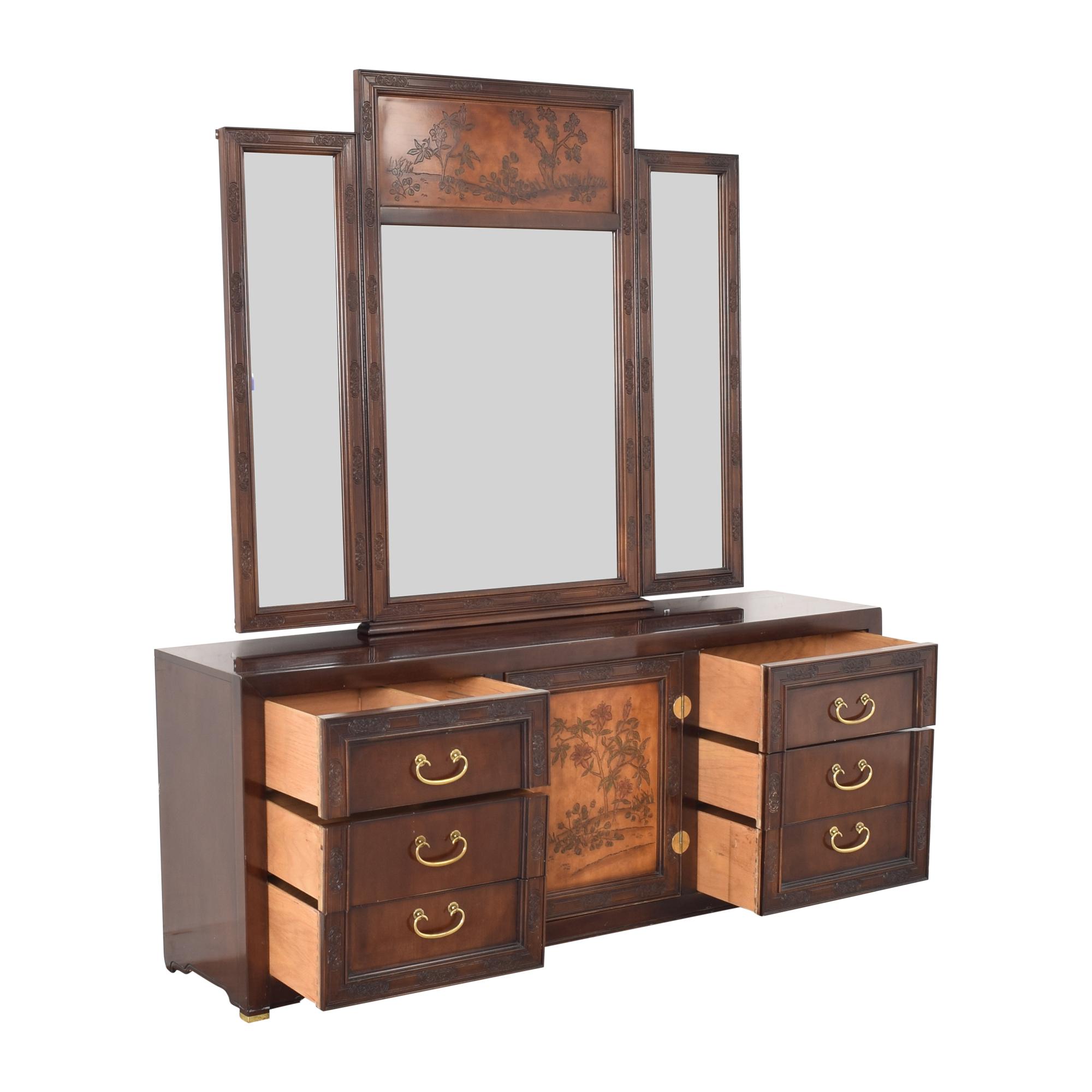 Bernhardt Bernhardt Dresser with Mirror