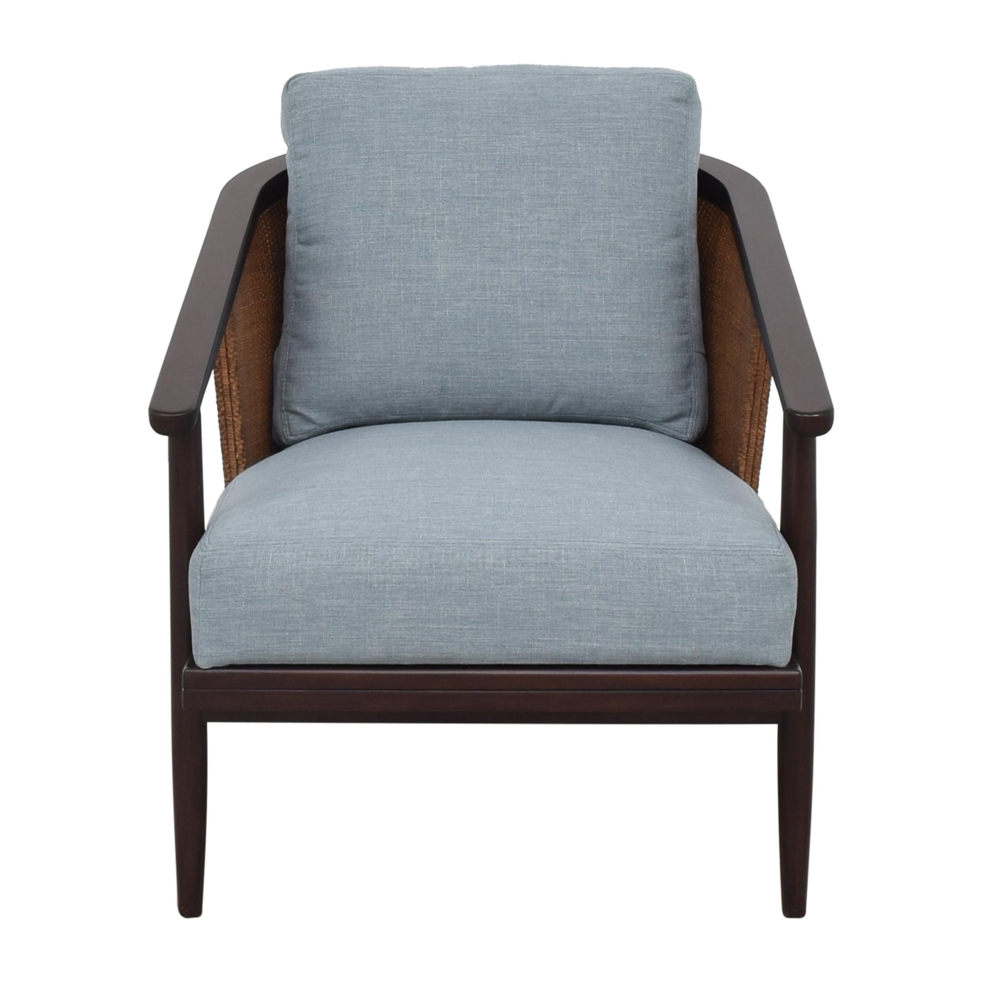 shop Ethan Allen Ethan Allen Lela Woven Barrel Chair online