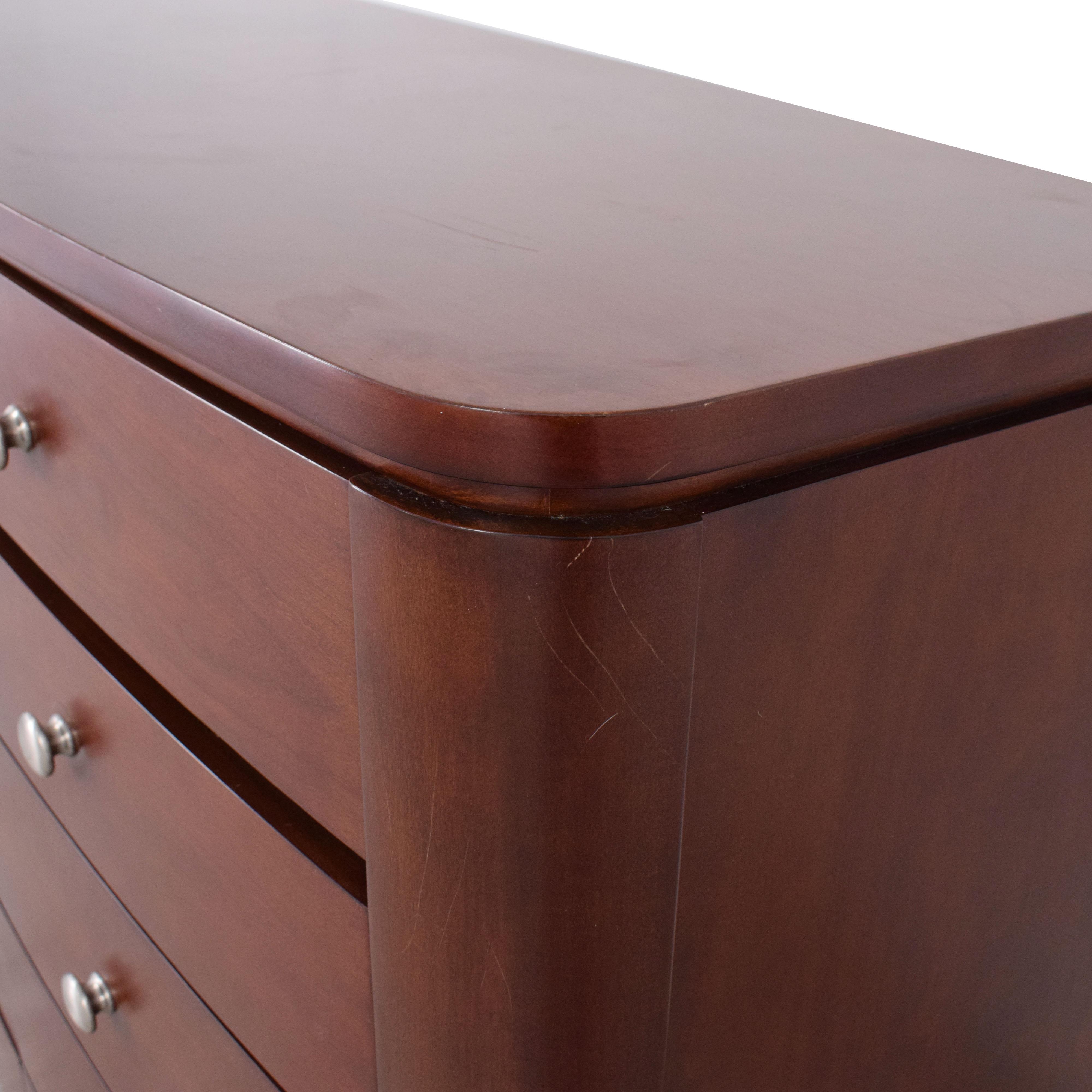 Macy's Macy's High Ten Drawer Dresser used