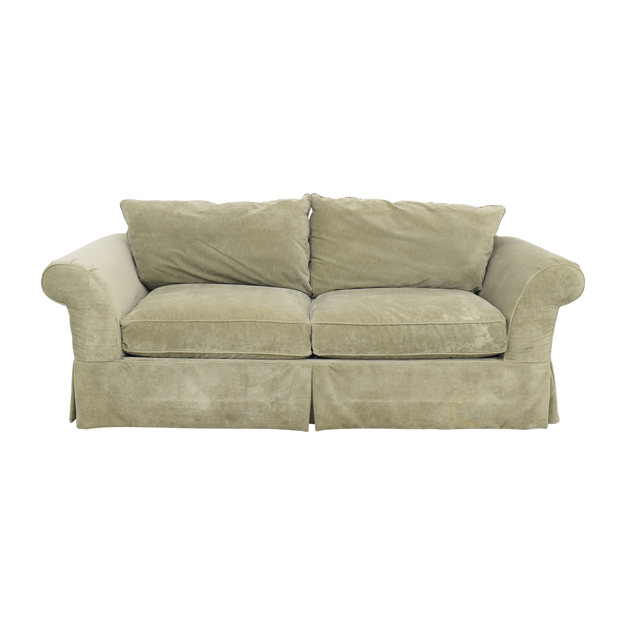buy Domain Skirted Sofa Domain Sofas