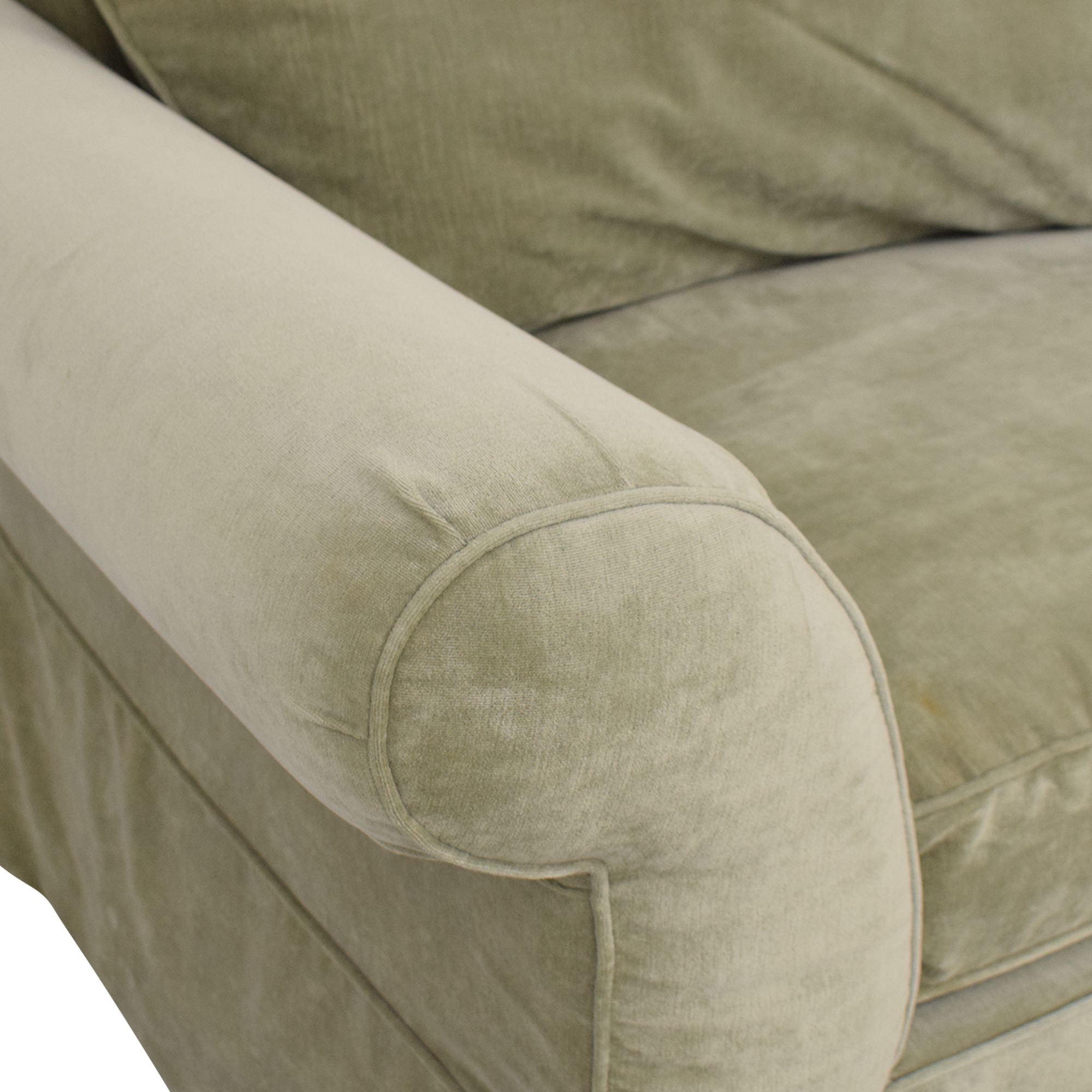 shop Domain Skirted Sofa Domain
