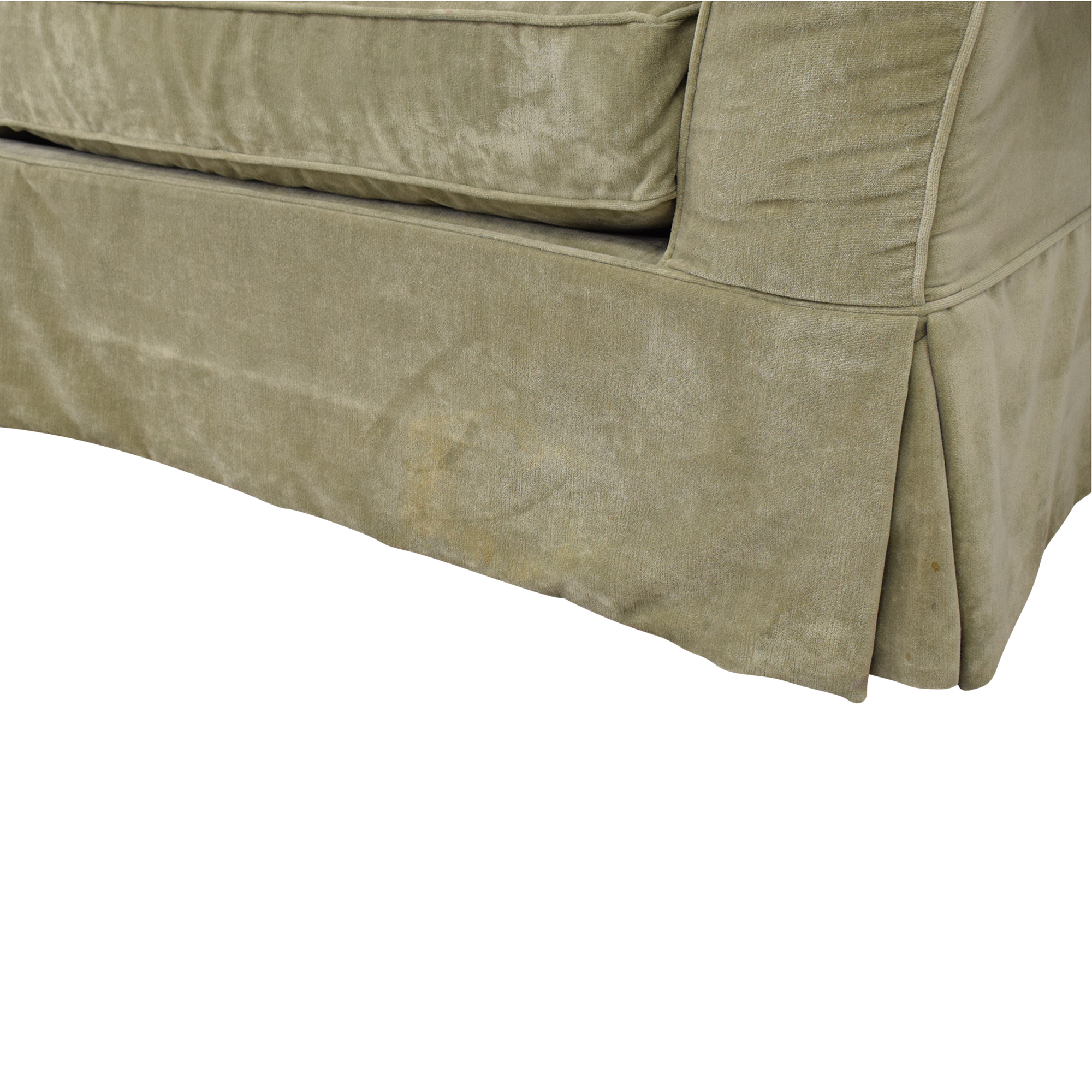 Domain Domain Skirted Sofa used