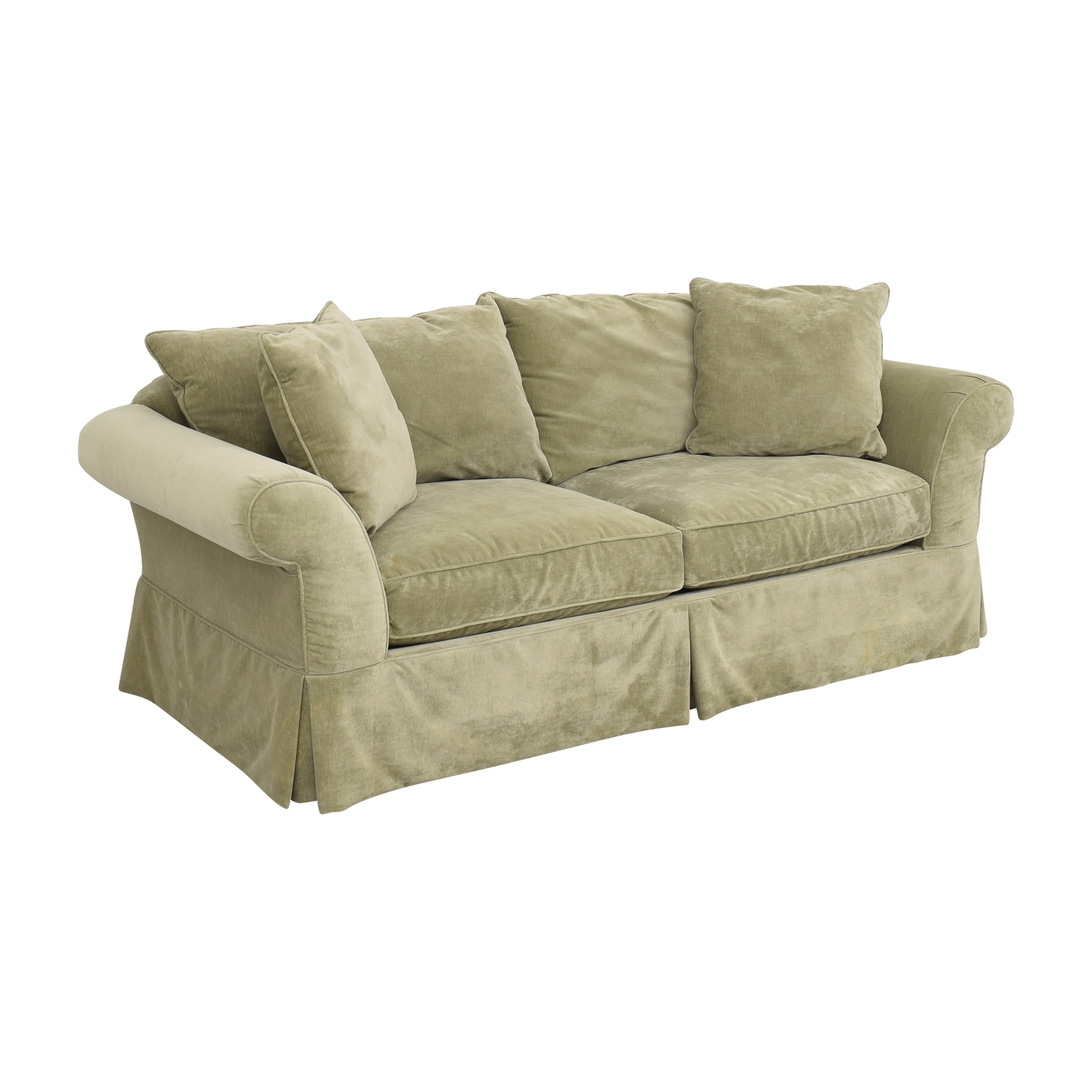 Domain Domain Skirted Sofa dimensions