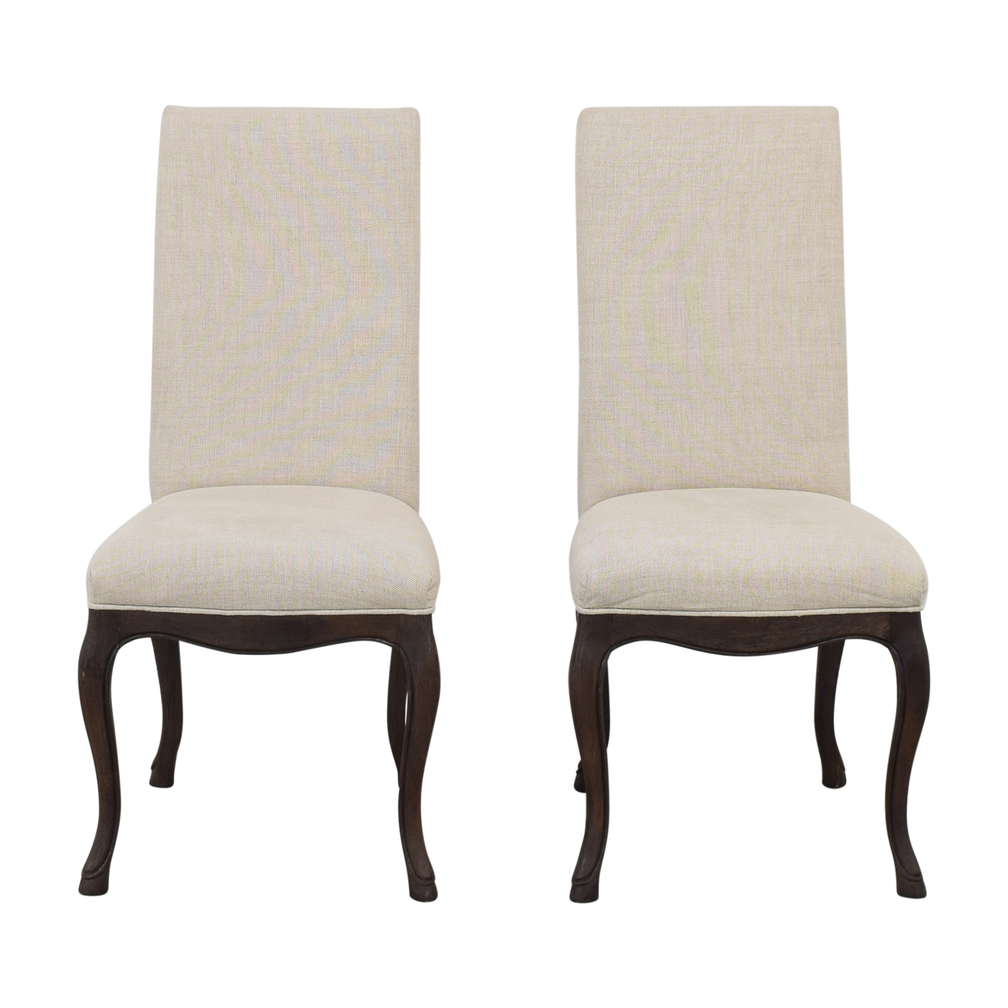 Restoration Hardware Louis XV Cabriole Chairs / Dining Chairs