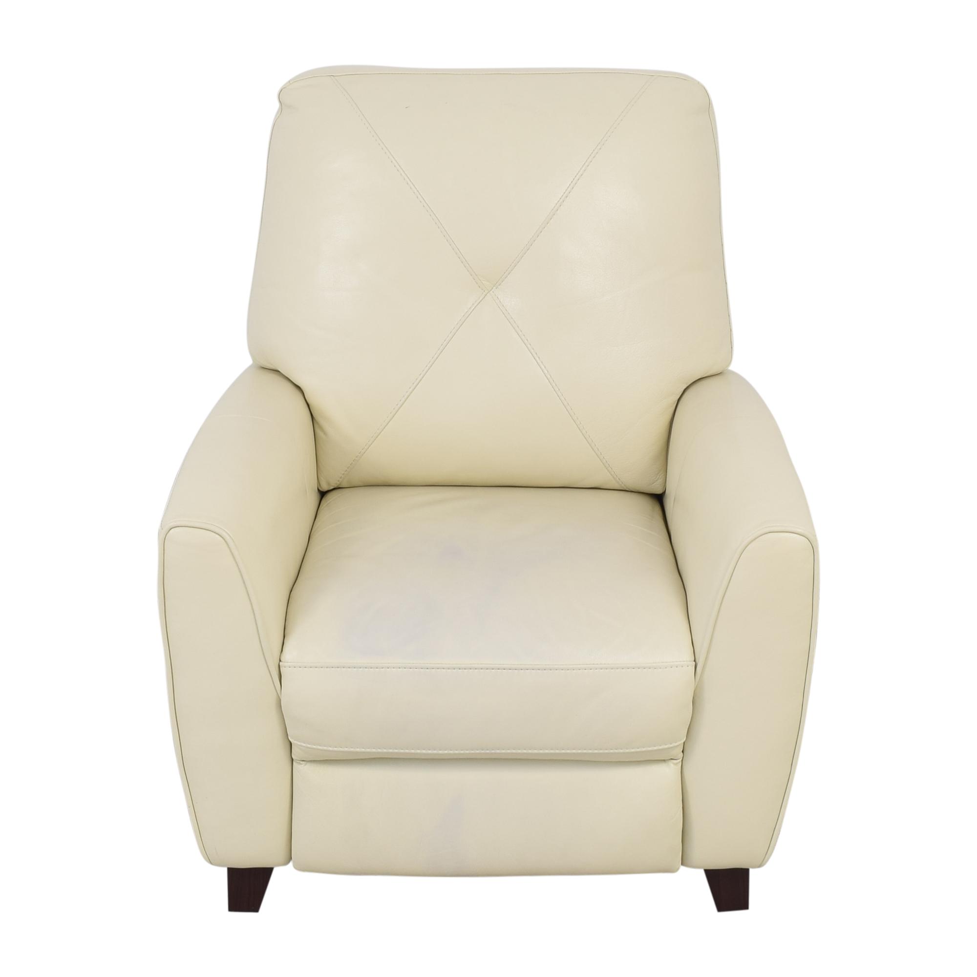 shop Macy's Myia Pushback Reclining Chair Macy's Chairs