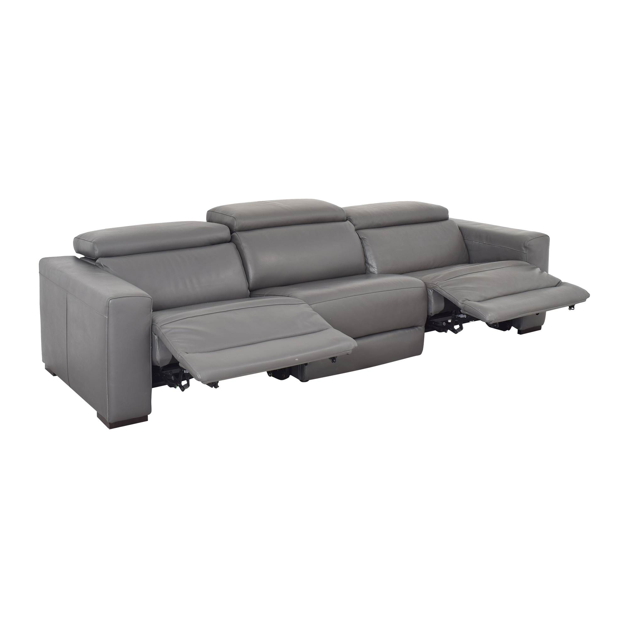 Macy's Macy's Nevio Reclining Sofa second hand