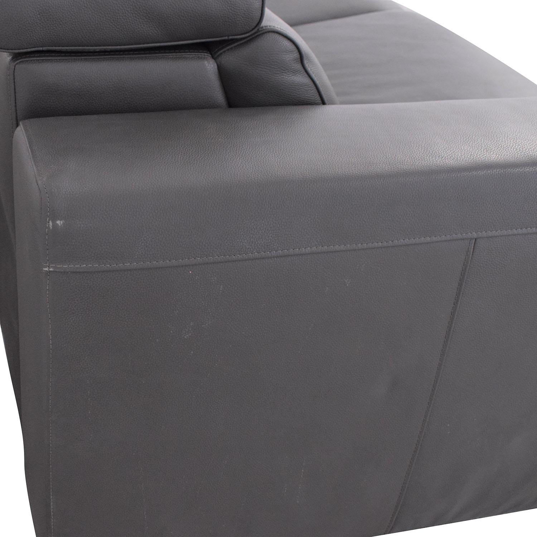 Macy's Macy's Nevio 2-Piece Power Reclining Sofa for sale