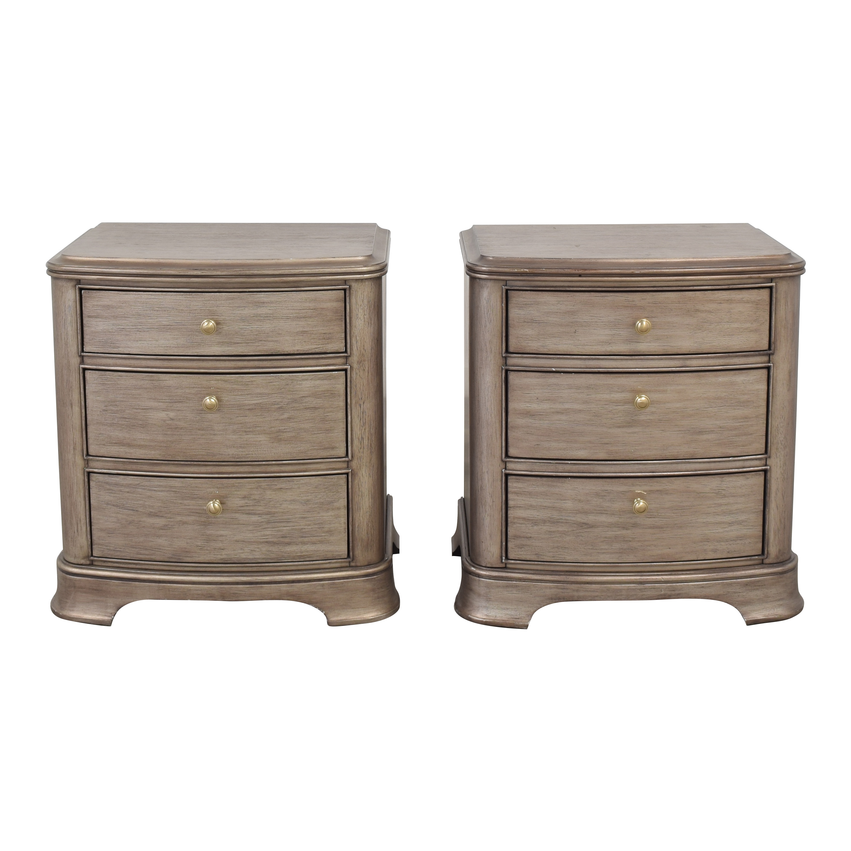 Macy's Macy's Kelly Ripa Home Three Drawer Nightstands used