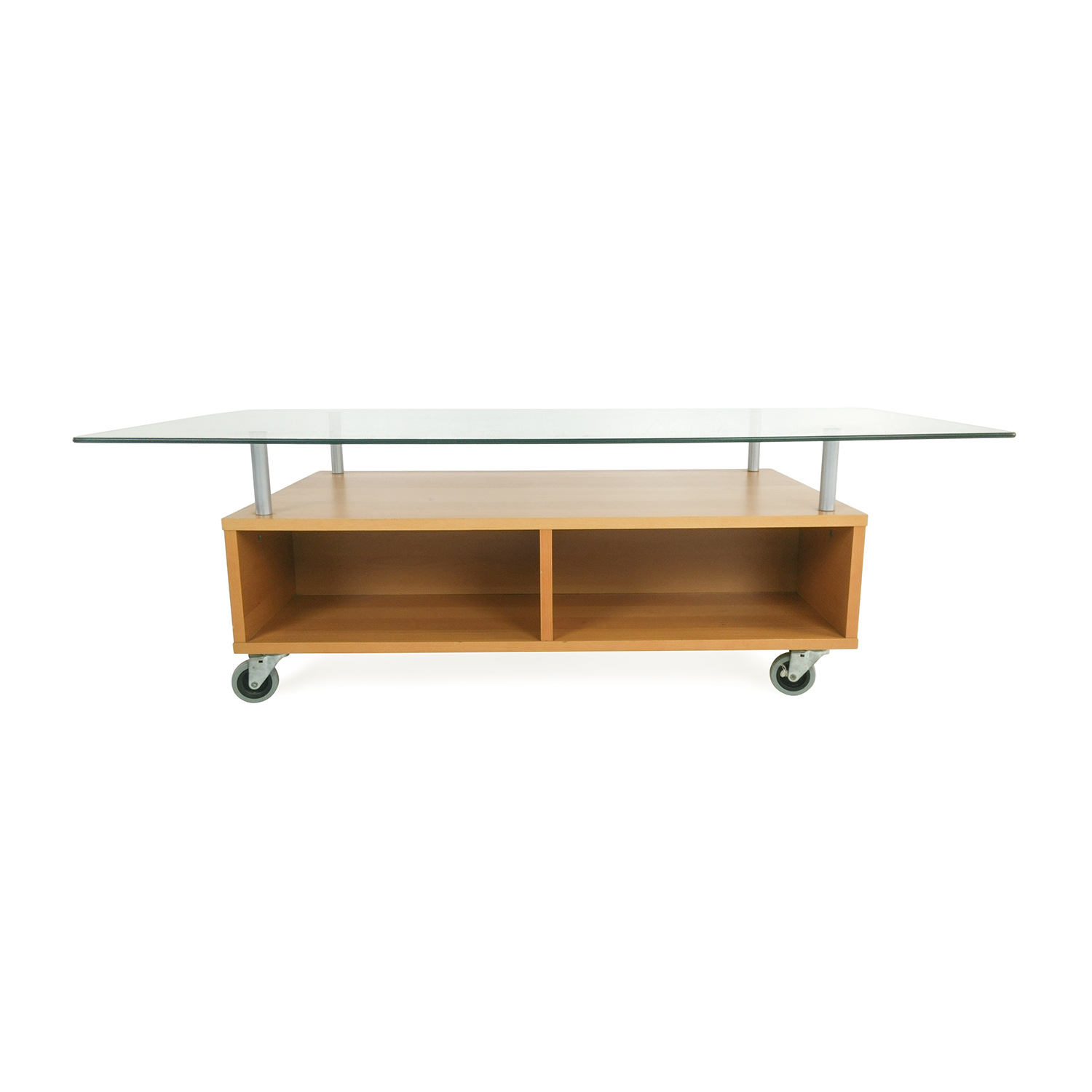 IKEA Glass Coffee Table with Storage price