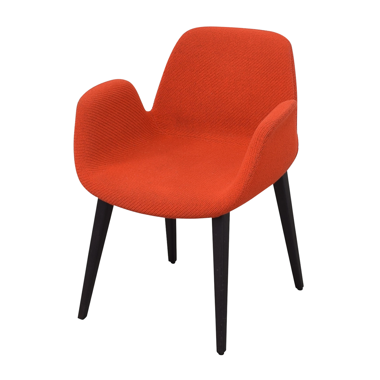 Koleksiyon Koleksiyon Halia Arm Chair red & black