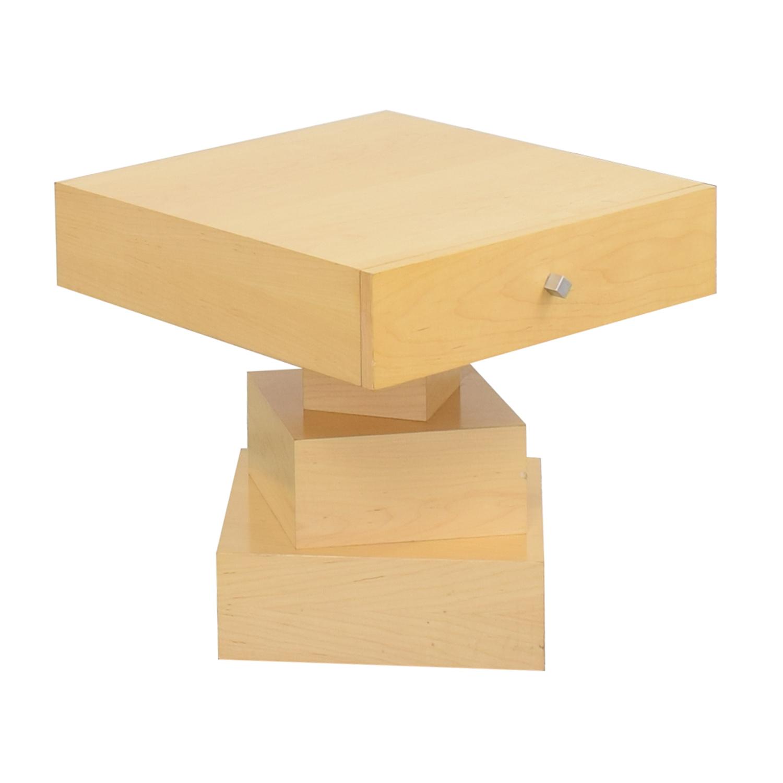Antoine Proulx Antoine Proulx End Bedside Table dimensions