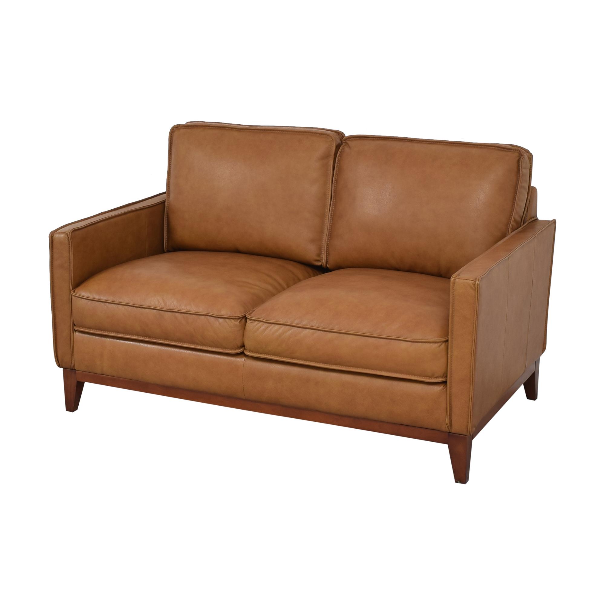 Leather Italia Leather Italia Newport Loveseat nj