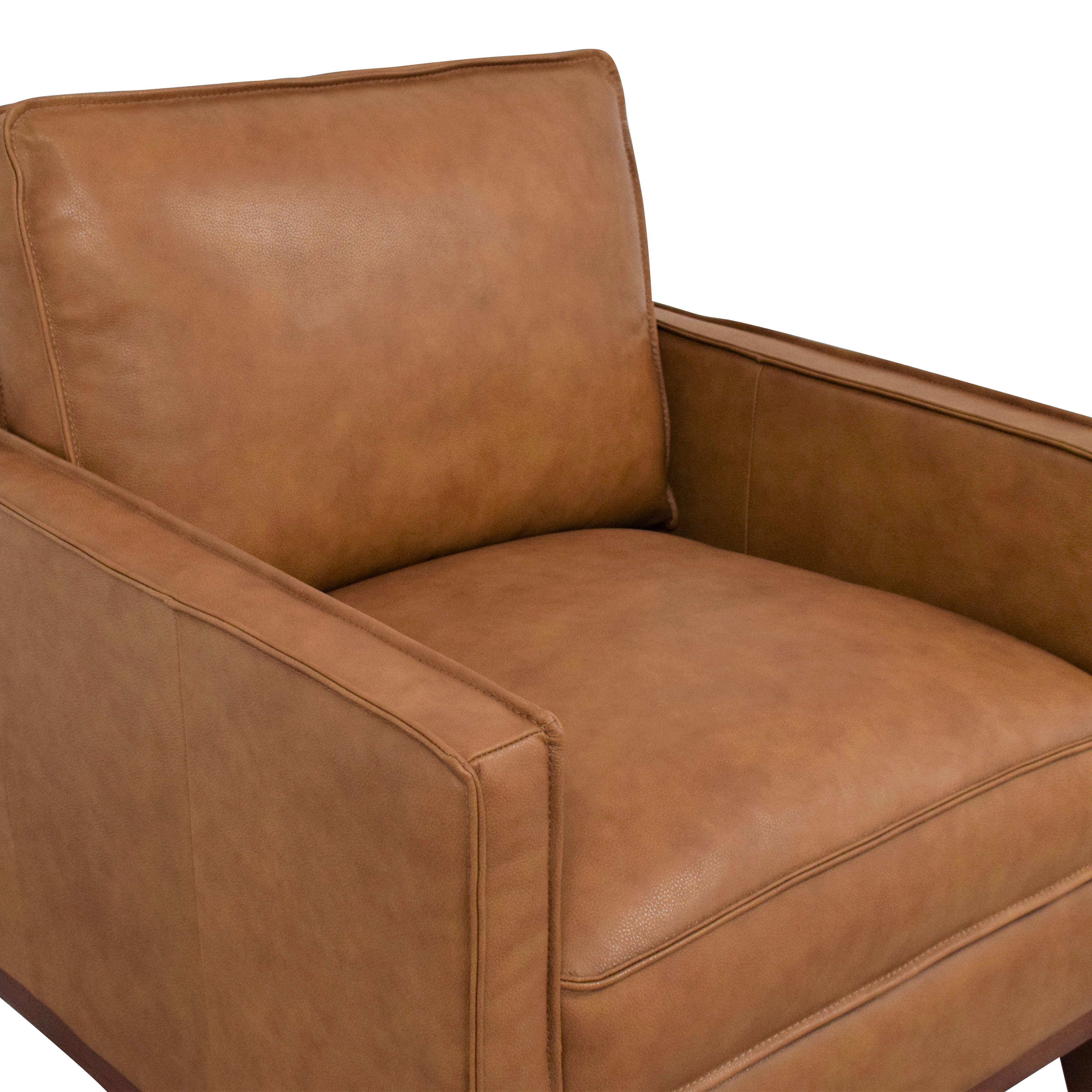 Leather Italia Leather Italia Newport Chair second hand
