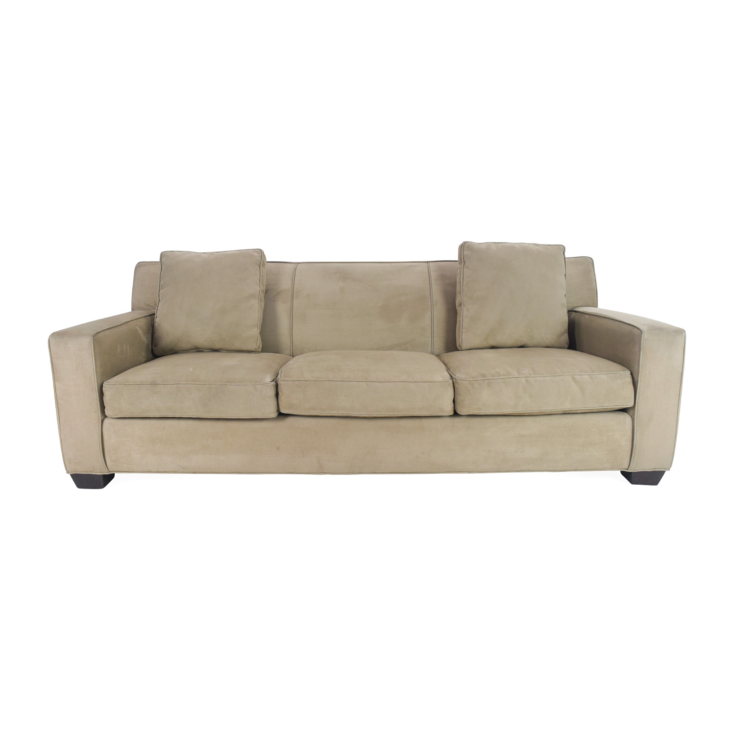 Crate and Barrel Crate and Barrel Cameron Sofa dimensions