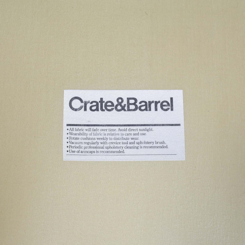 Pleasant 78 Off Crate Barrel Crate And Barrel Cameron Sofa Sofas Ibusinesslaw Wood Chair Design Ideas Ibusinesslaworg