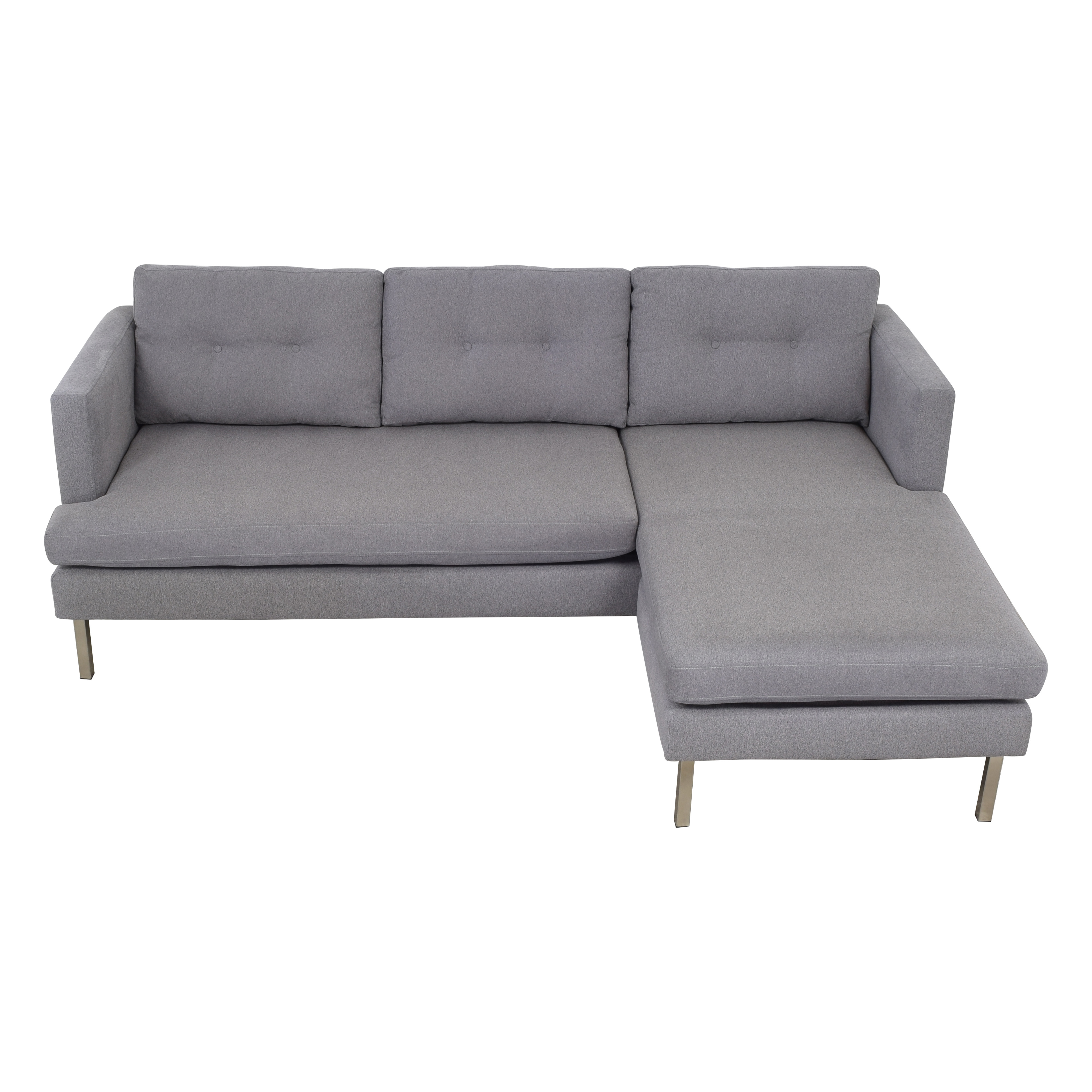 West Elm West Elm Jackson Chaise Sectional Sofa second hand