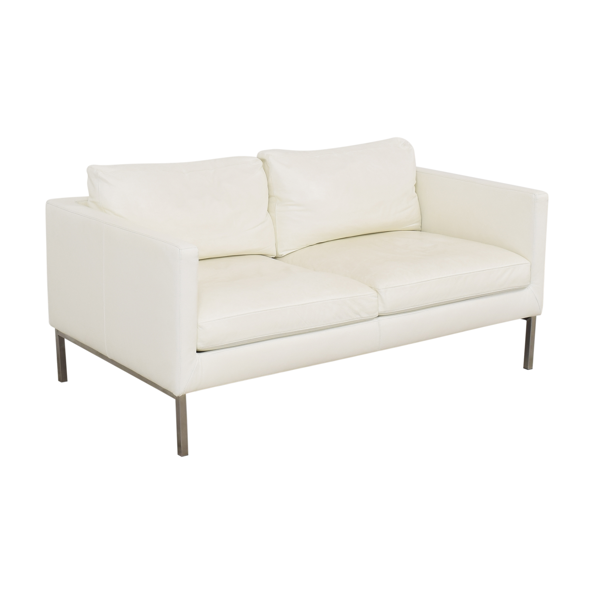 American Leather American Leather Two Cushion Sofa Loveseats