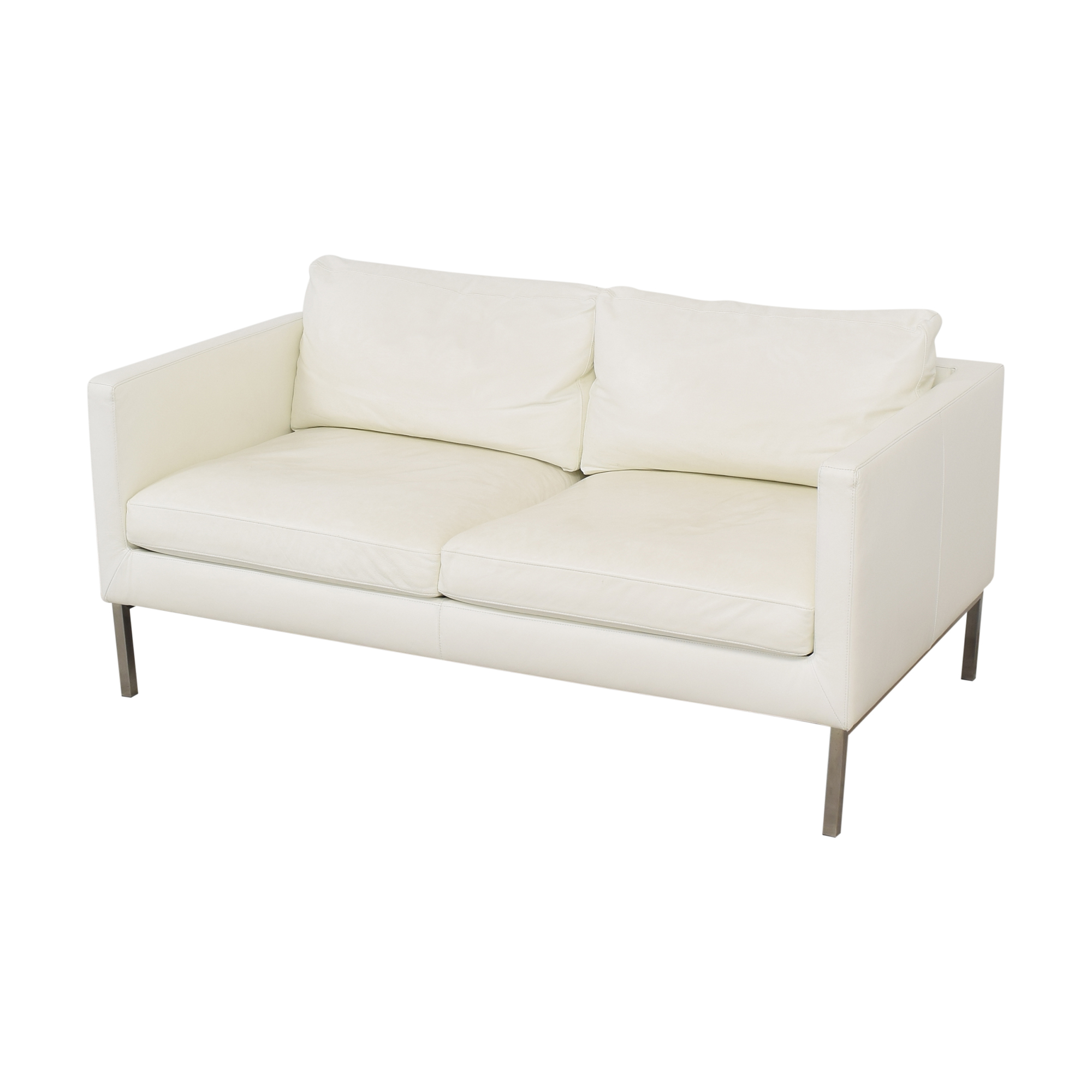 American Leather American Leather Two Cushion Sofa second hand