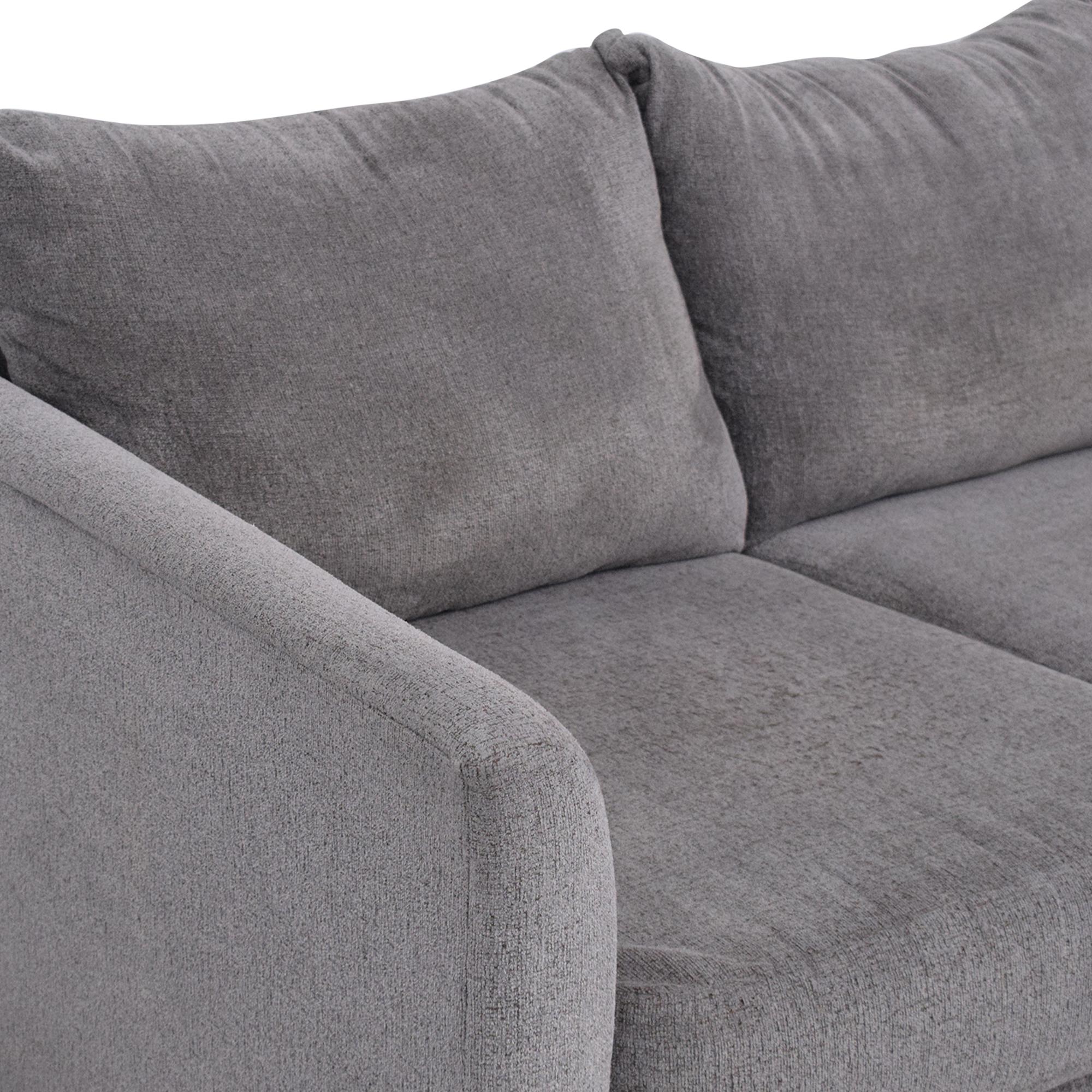 KFI Sectional Chaise Sofa KFI