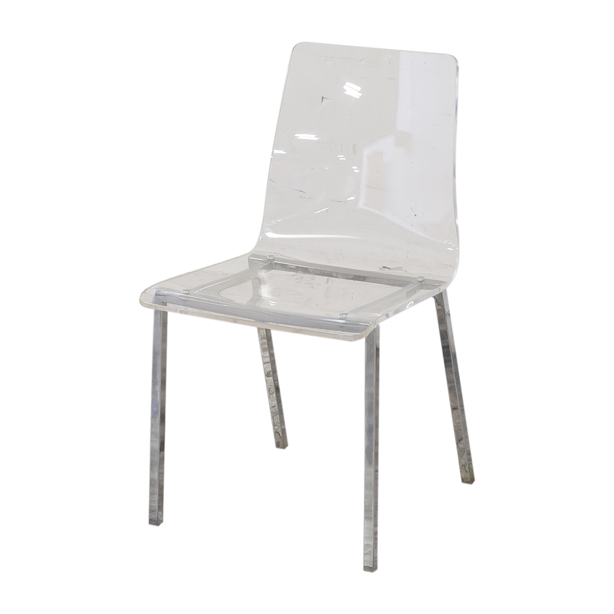 shop CB2 CB2 Vapor Acrylic Clear Dining Room Chairs online