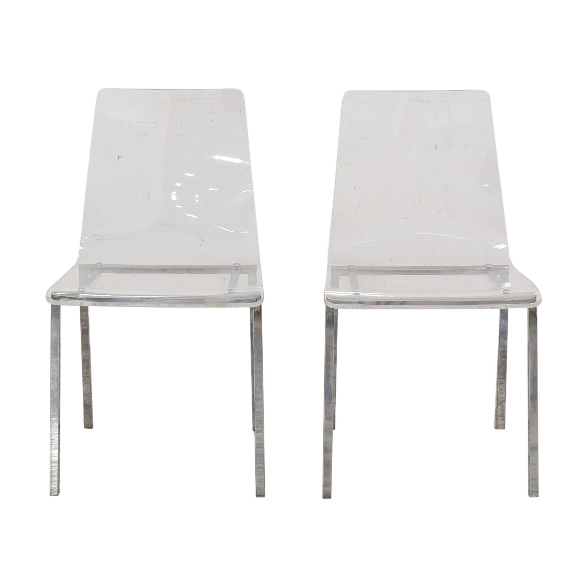 CB2 CB2 Vapor Acrylic Clear Dining Room Chairs coupon