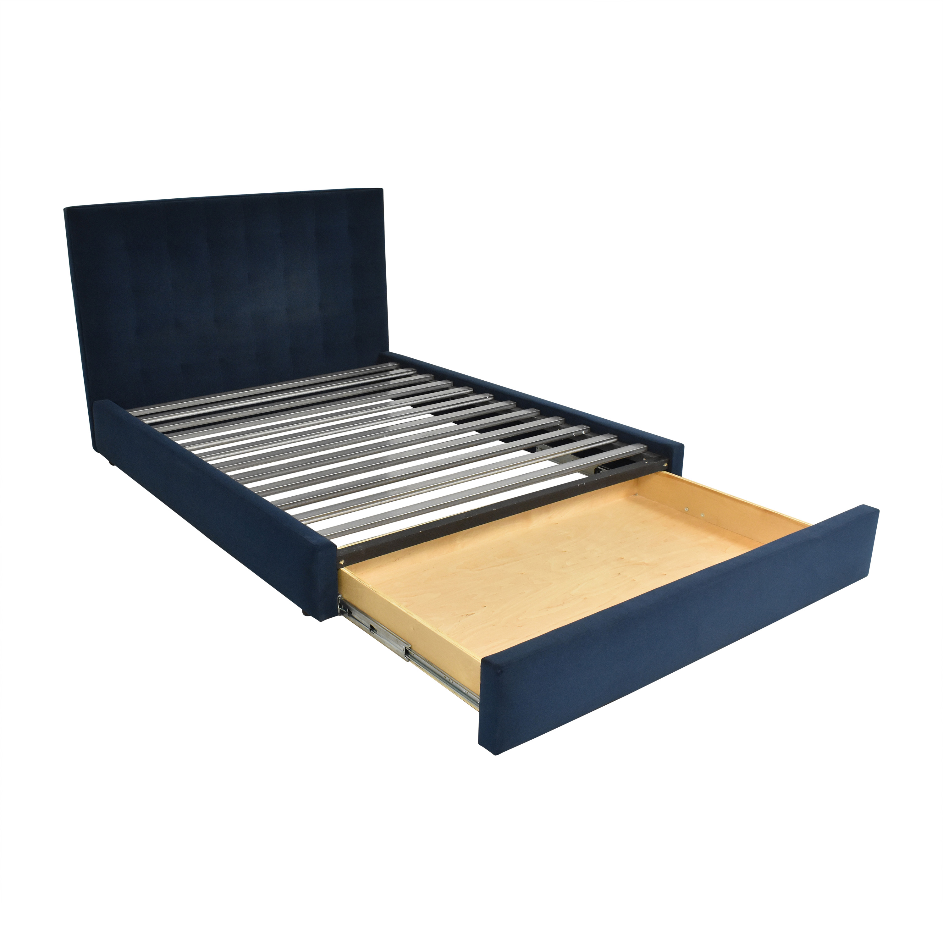 buy Room & Board Queen Avery Bed with Storage Drawer Room & Board Bed Frames