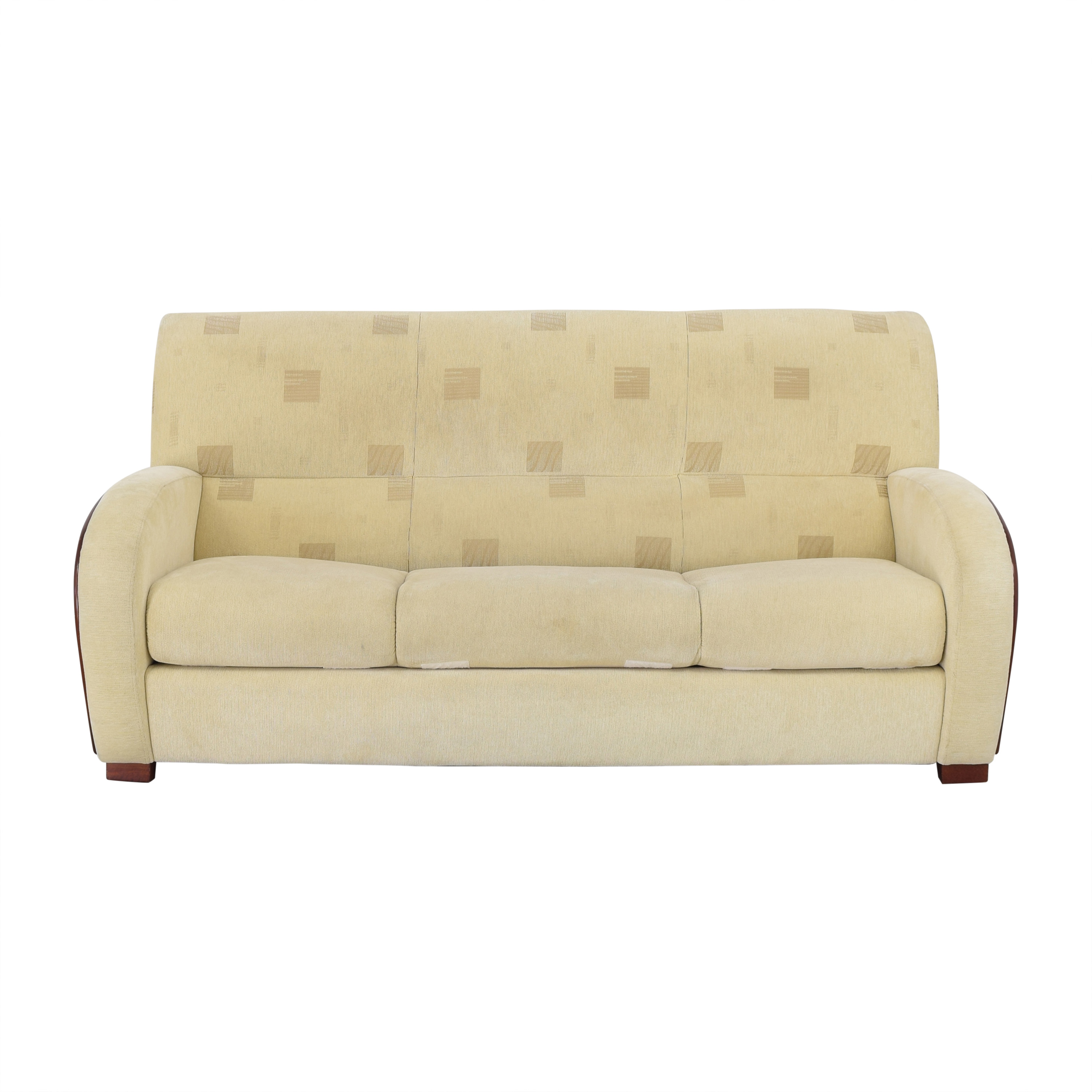 Vintage Style Tufted Back Sofa Bed / Sofa Beds