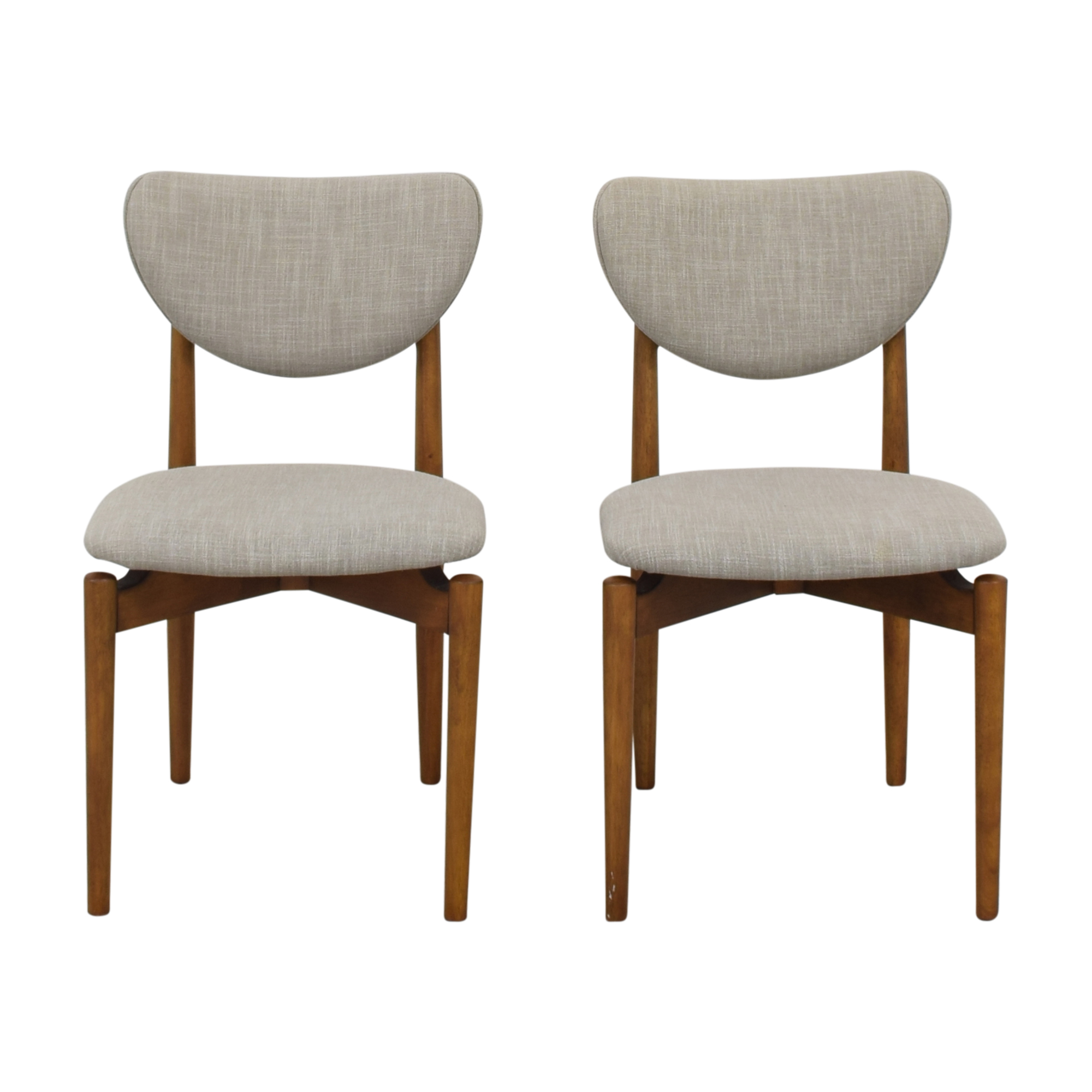 West Elm West Elm Dane Dining Chairs second hand