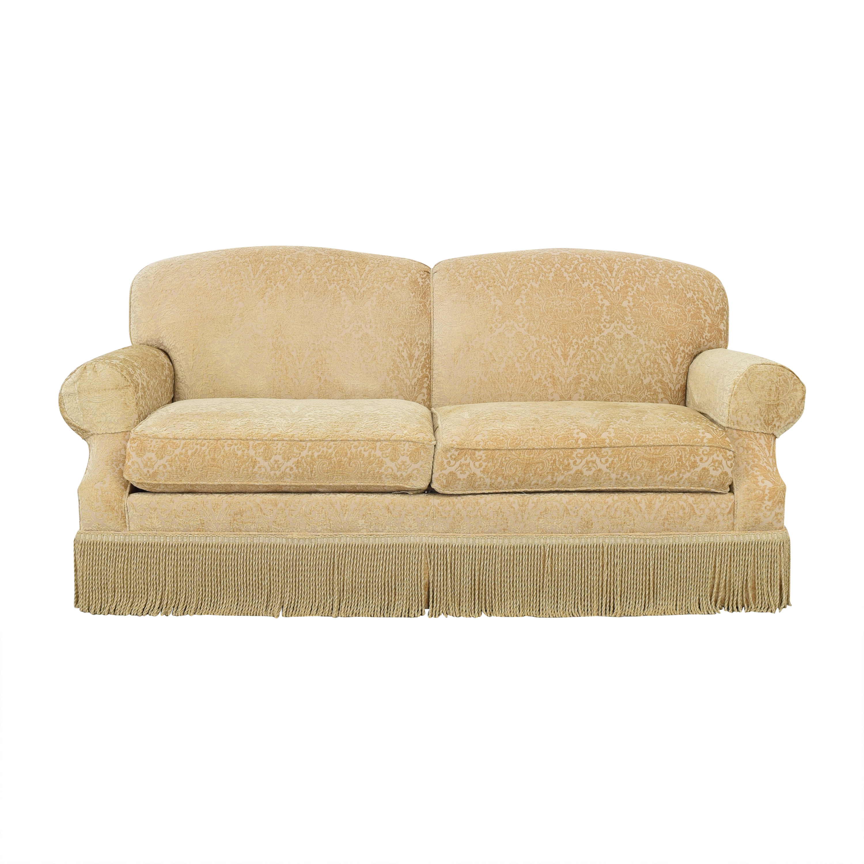Ethan Allen Ethan Allen Fringe Skirt Sofa ct