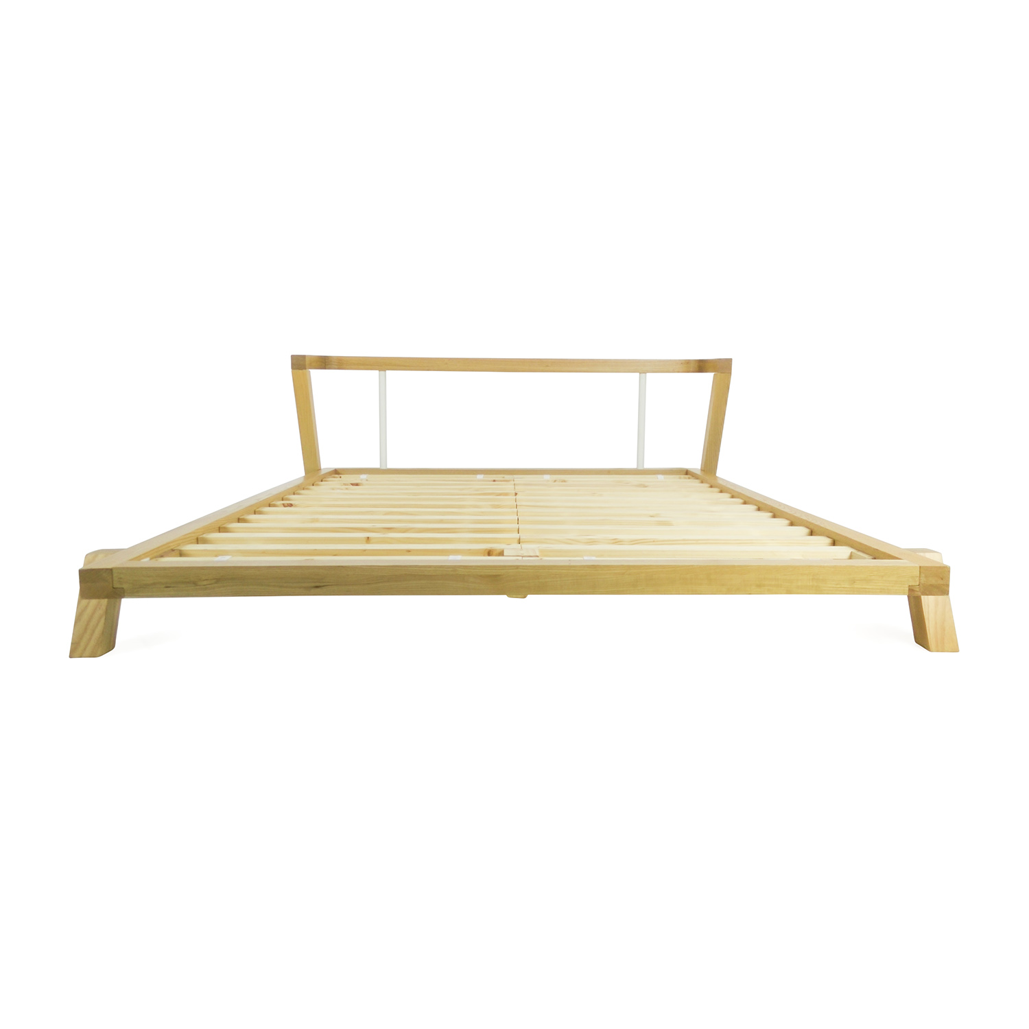 72% OFF - CB2 CB2 Siesta Queen Size Bed / Beds