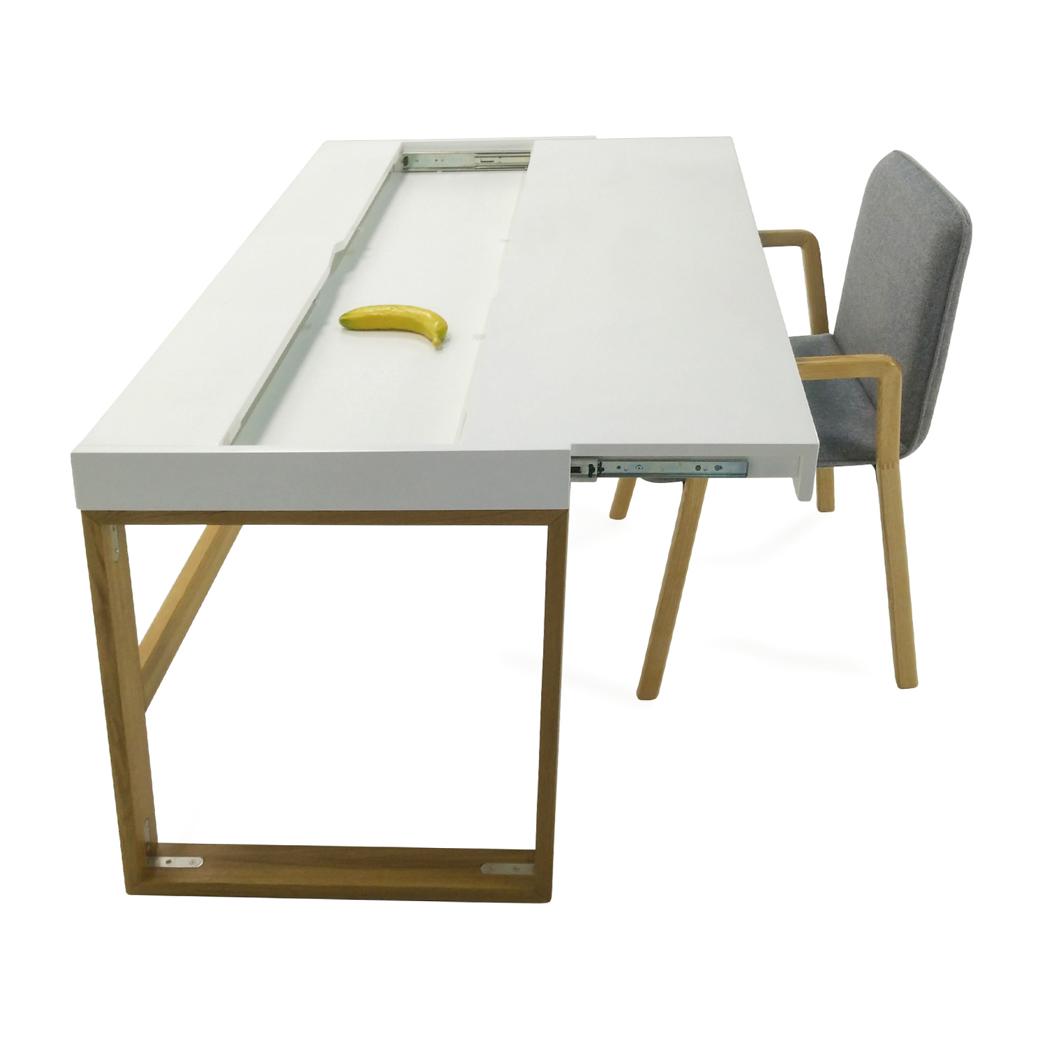 49 Off Cb2 Cb2 Chamber Desk Set Tables