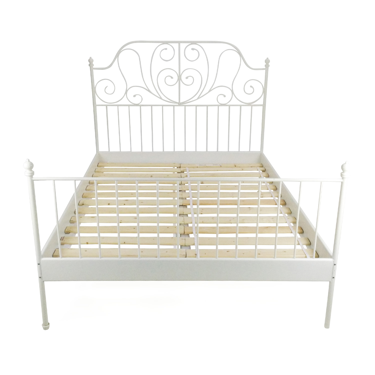 buy Ikea IKEA Queen Sized Iron Bed Frame online