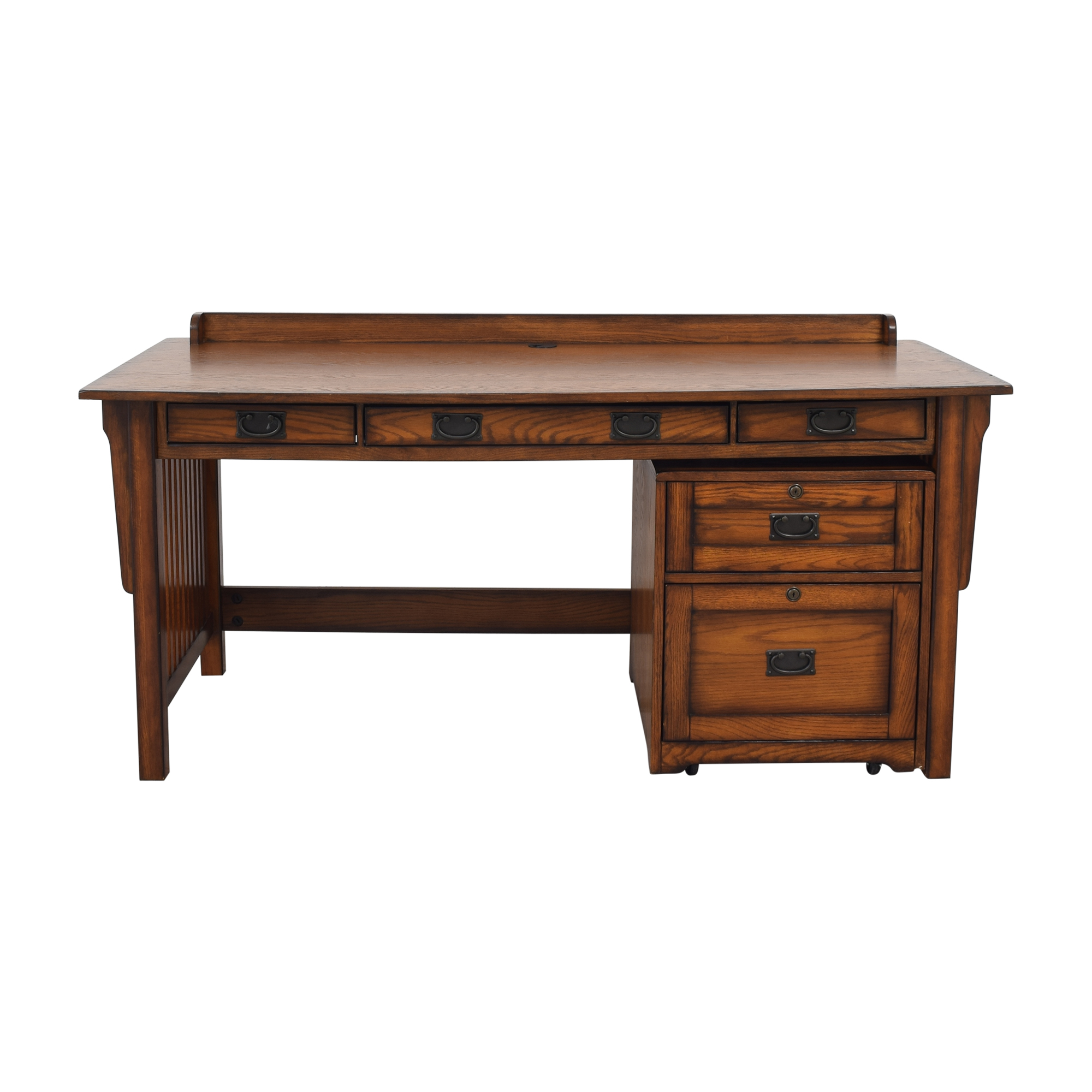 shop Hammary Furniture Hammary Furniture Sedona Desk and File Cabinet online