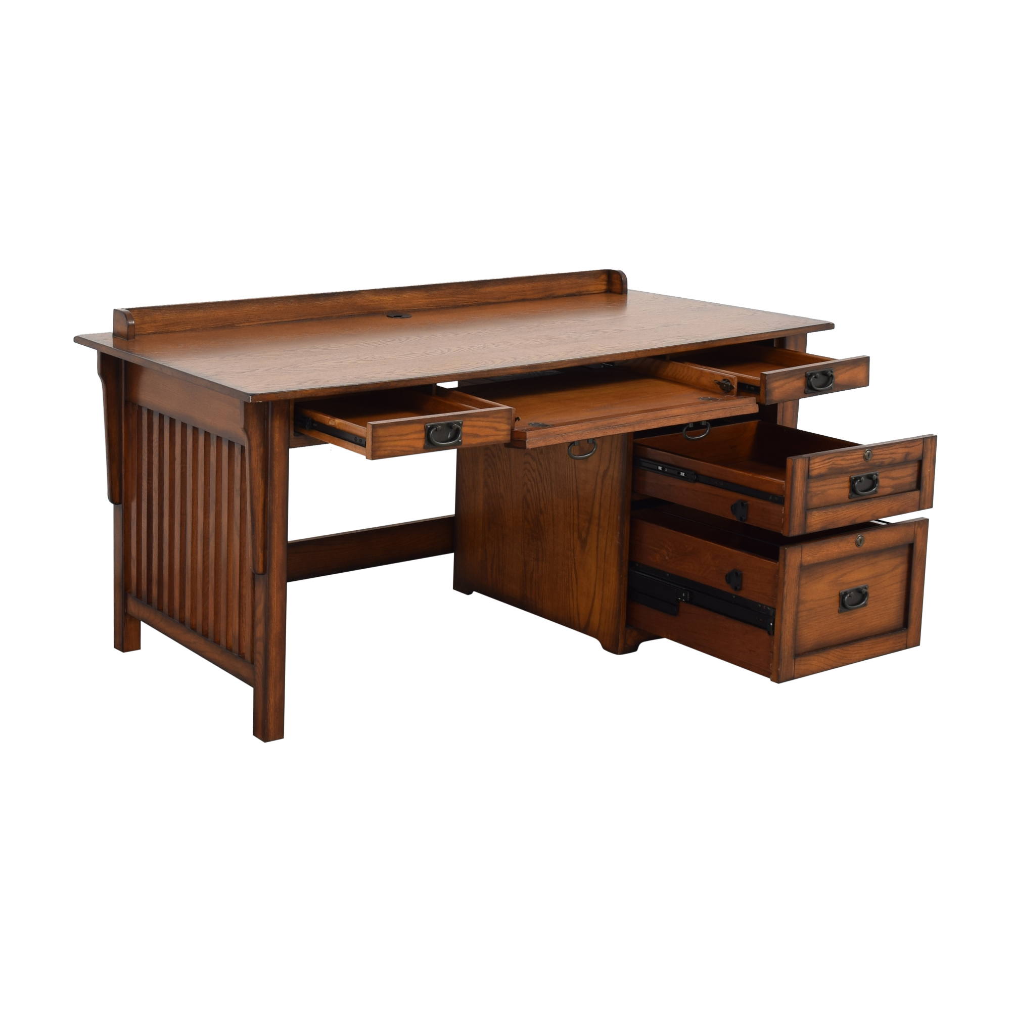 Hammary Furniture Sedona Desk and File Cabinet / Tables