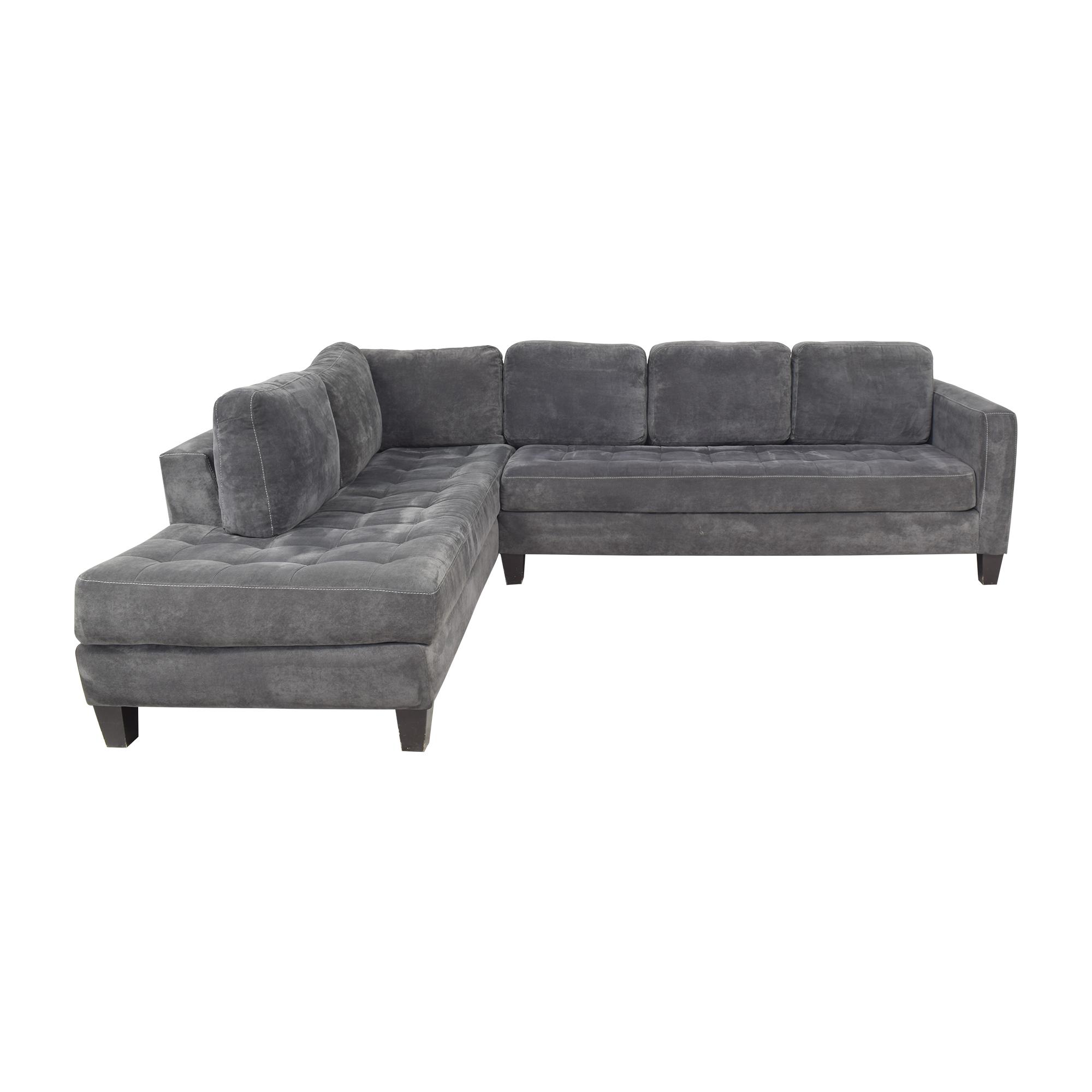 Macy's Macy's Milo Sectional Sofa nyc