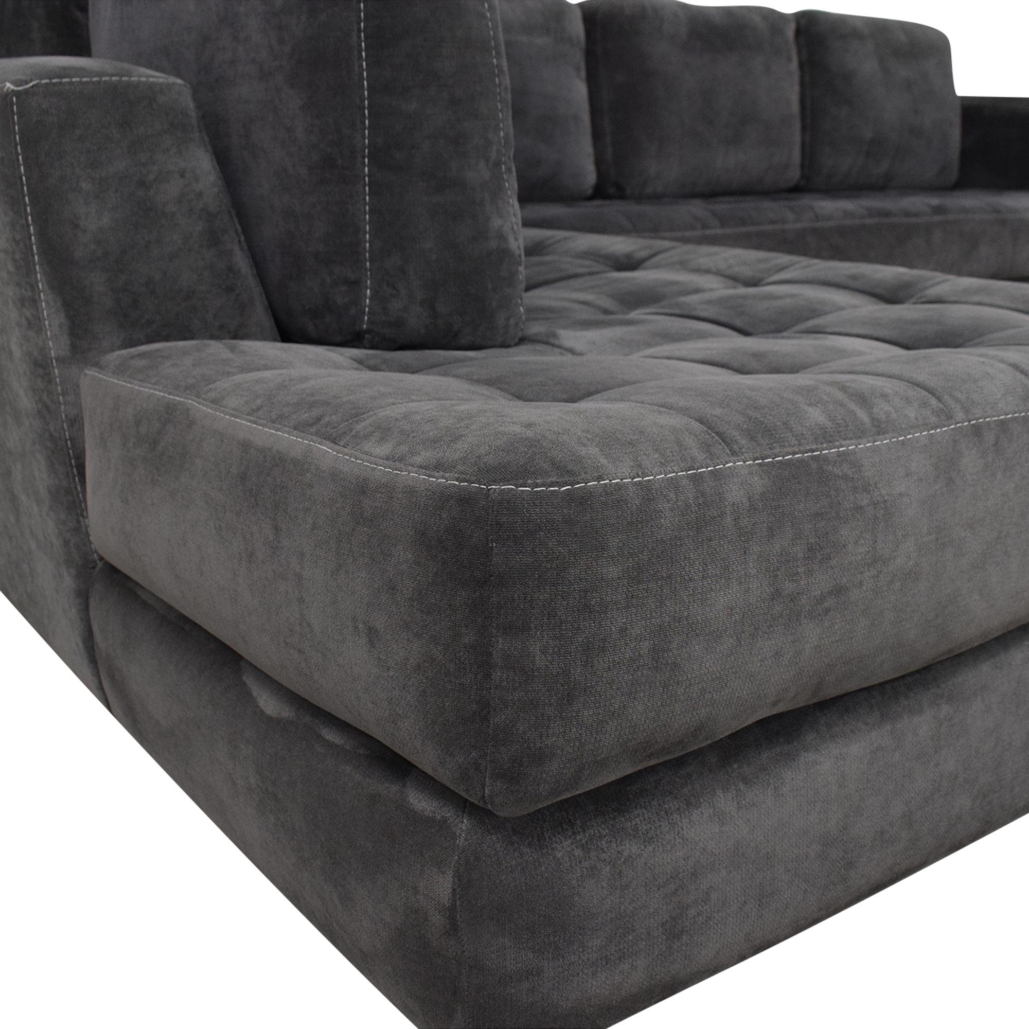 Macy's Macy's Milo Sectional Sofa nj