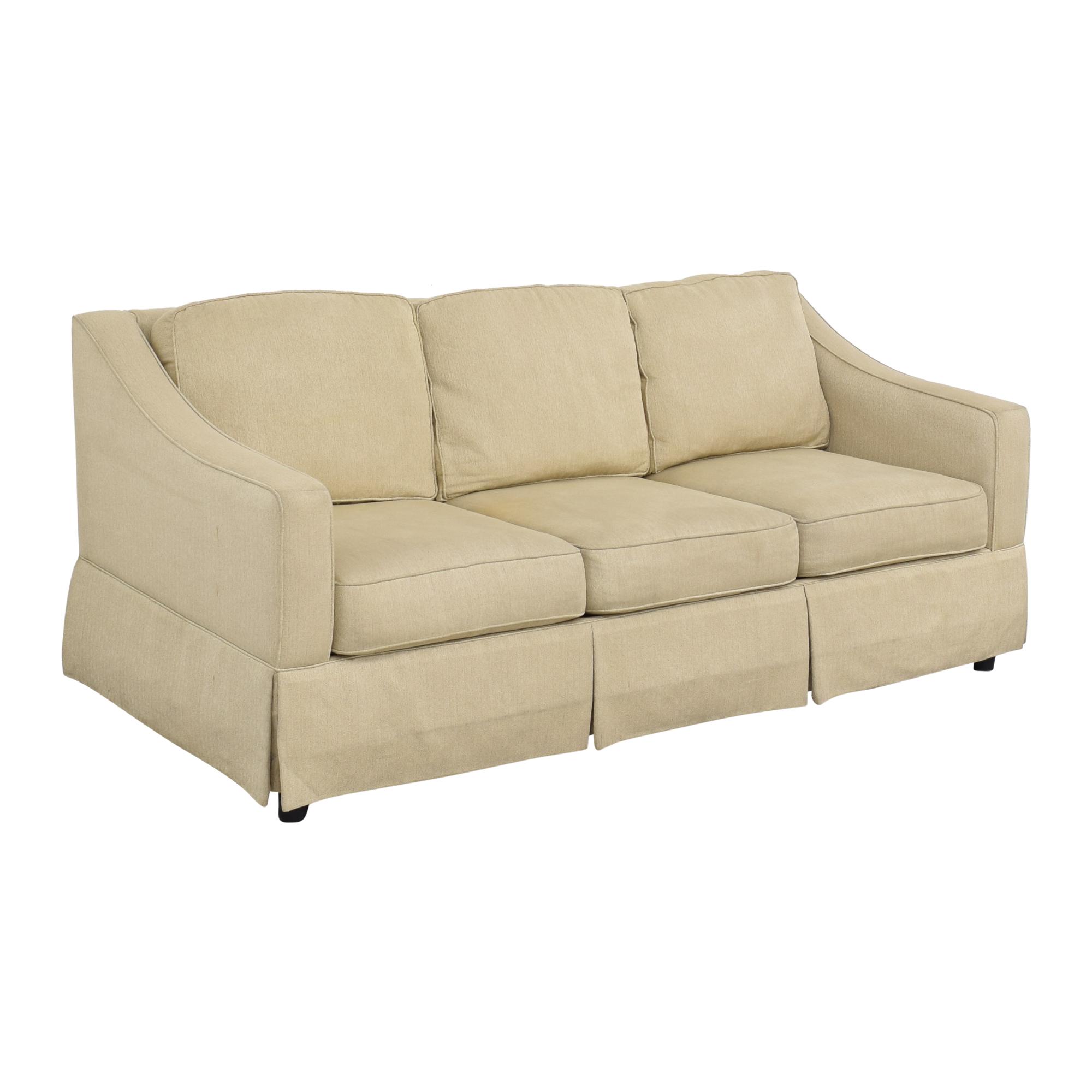 shop Bloomingdale's Bauhaus Sloped Arm Sofa Bauhaus Furniture Sofas
