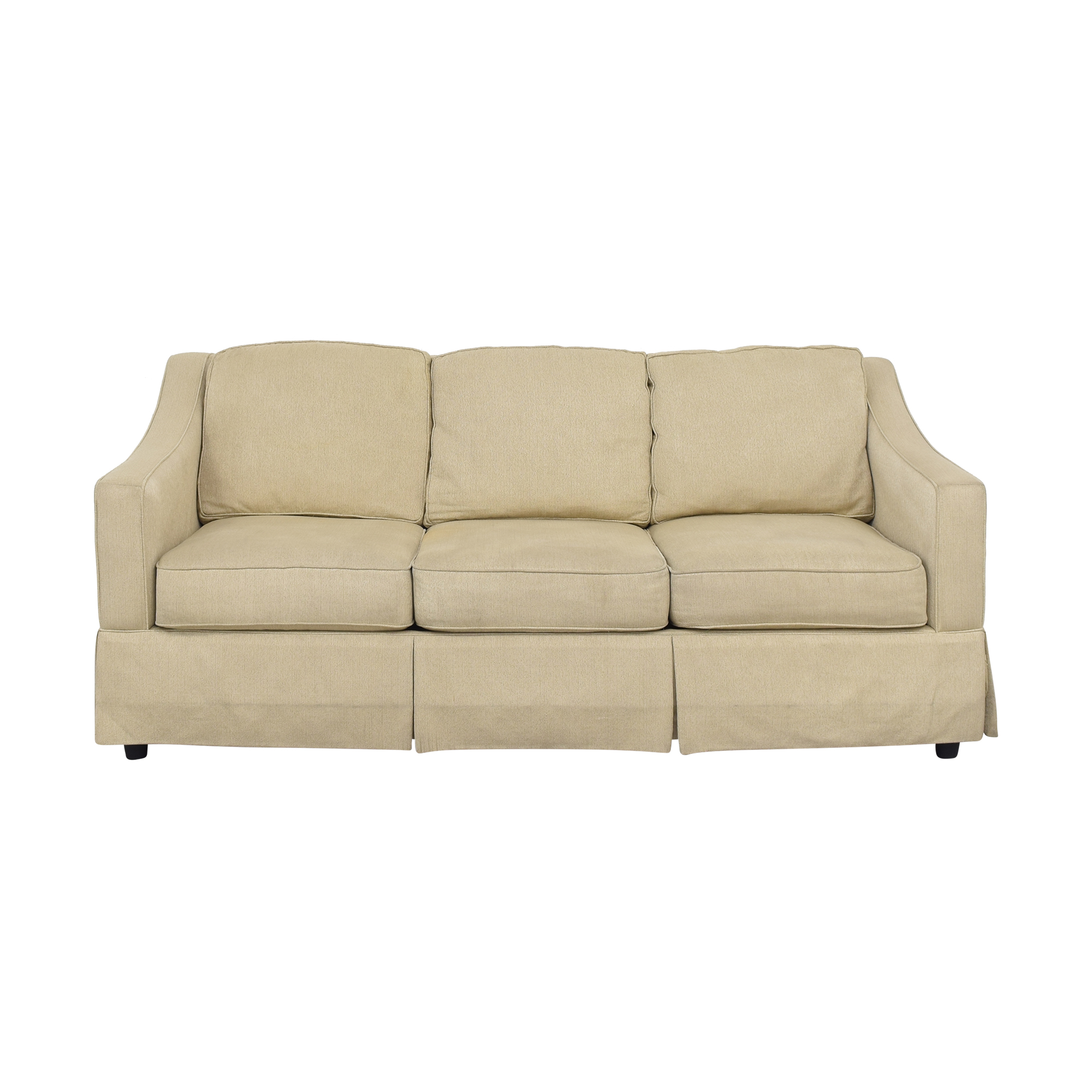 Bauhaus Furniture Bloomingdale's Bauhaus Sloped Arm Sofa dimensions