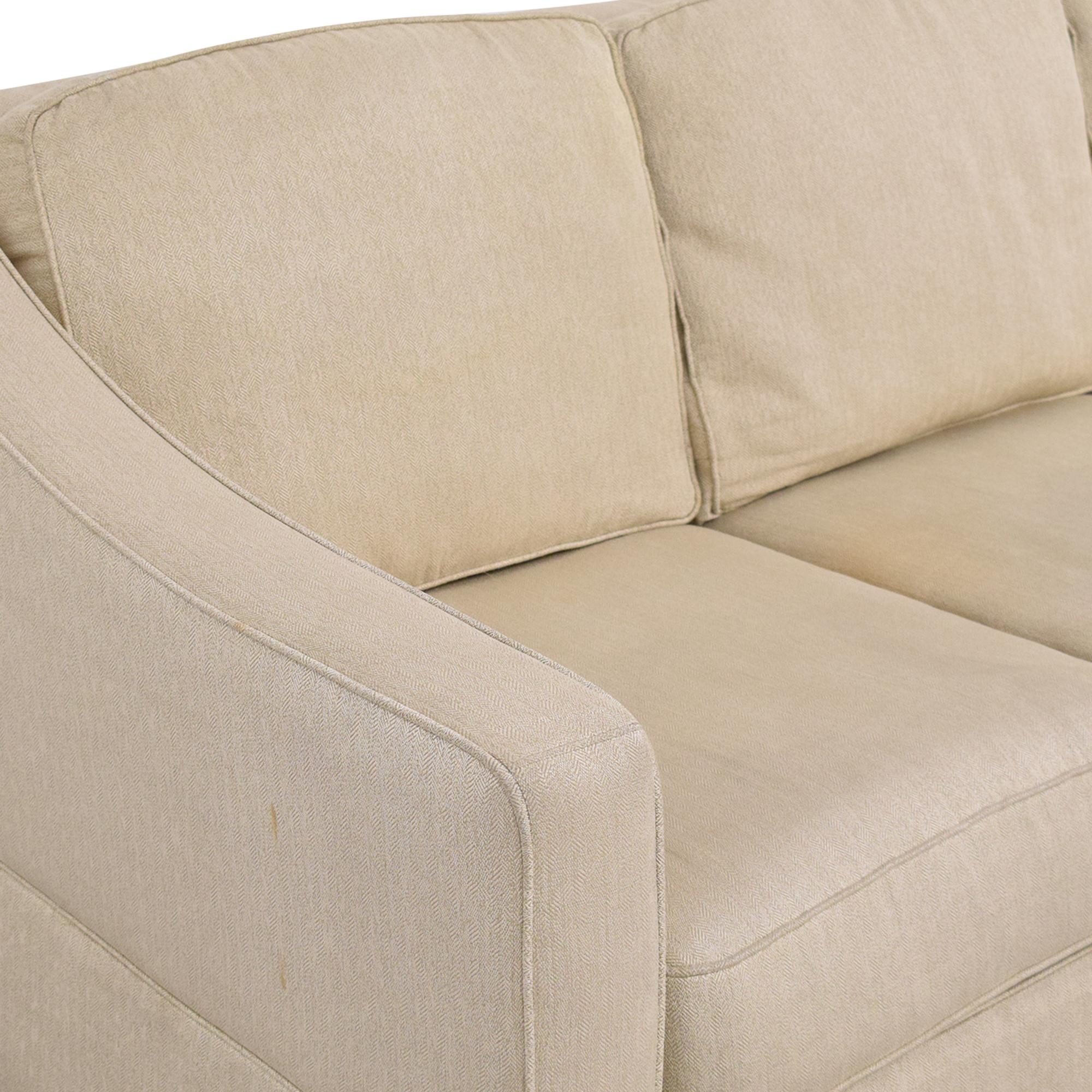 Bauhaus Furniture Bloomingdale's Bauhaus Sloped Arm Sofa ct