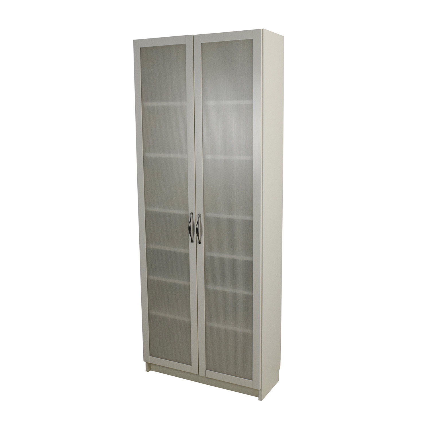 56 off ikea ikea white glass door cabinet storage - Ikea glass cabinets ...