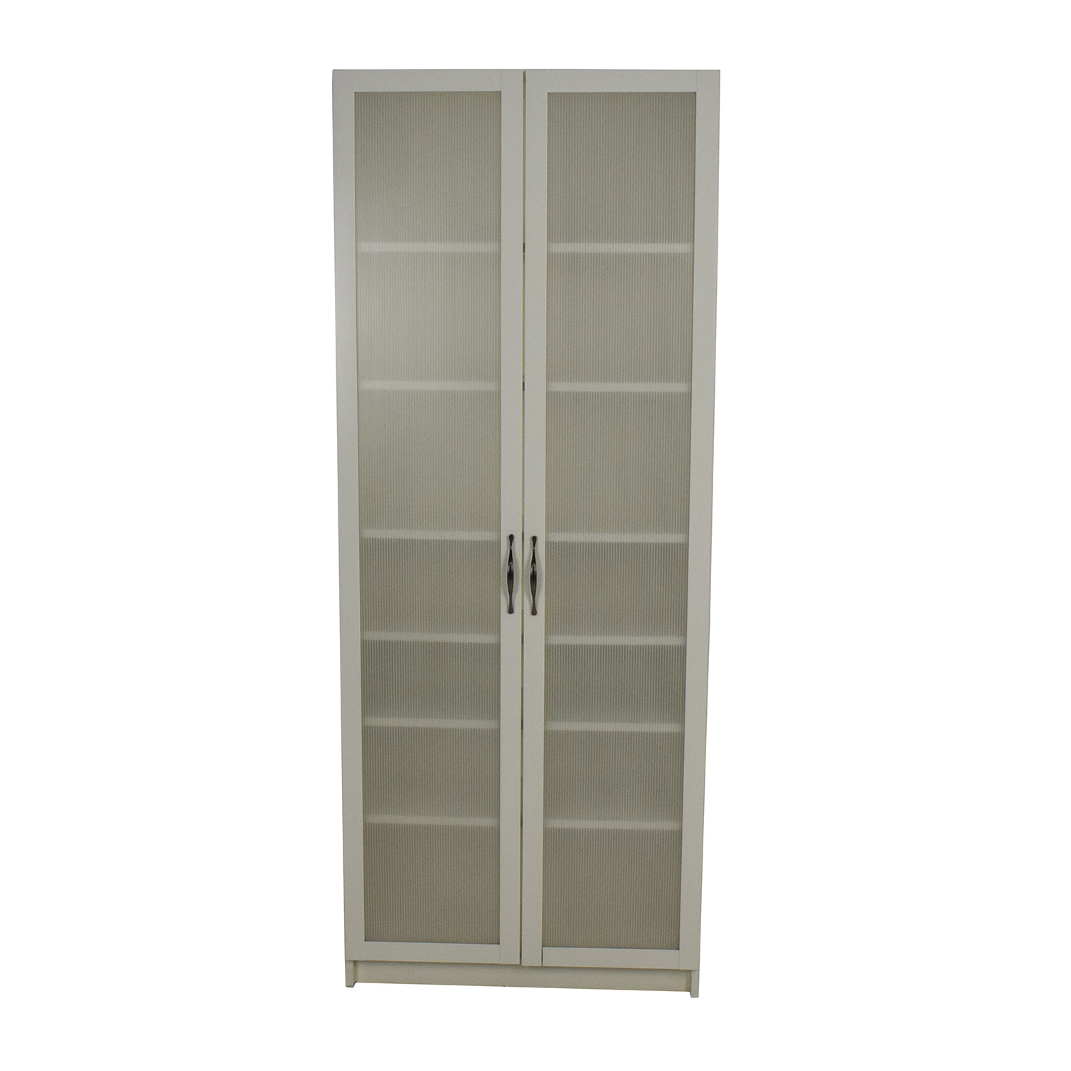 Ikea ikea white glass door cabinet discount