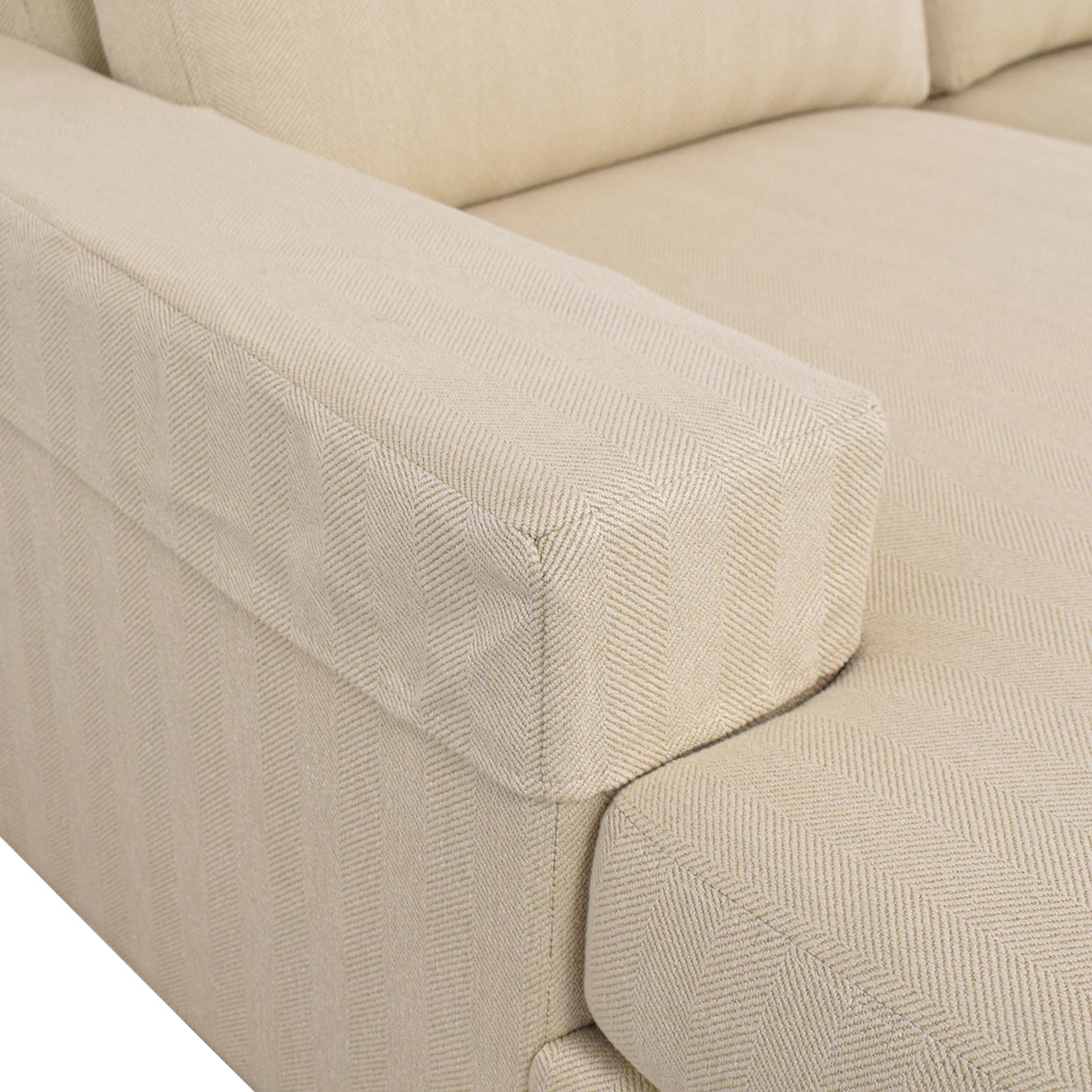 Ethan Allen Ethan Allen Conway Sectional Sofa beige