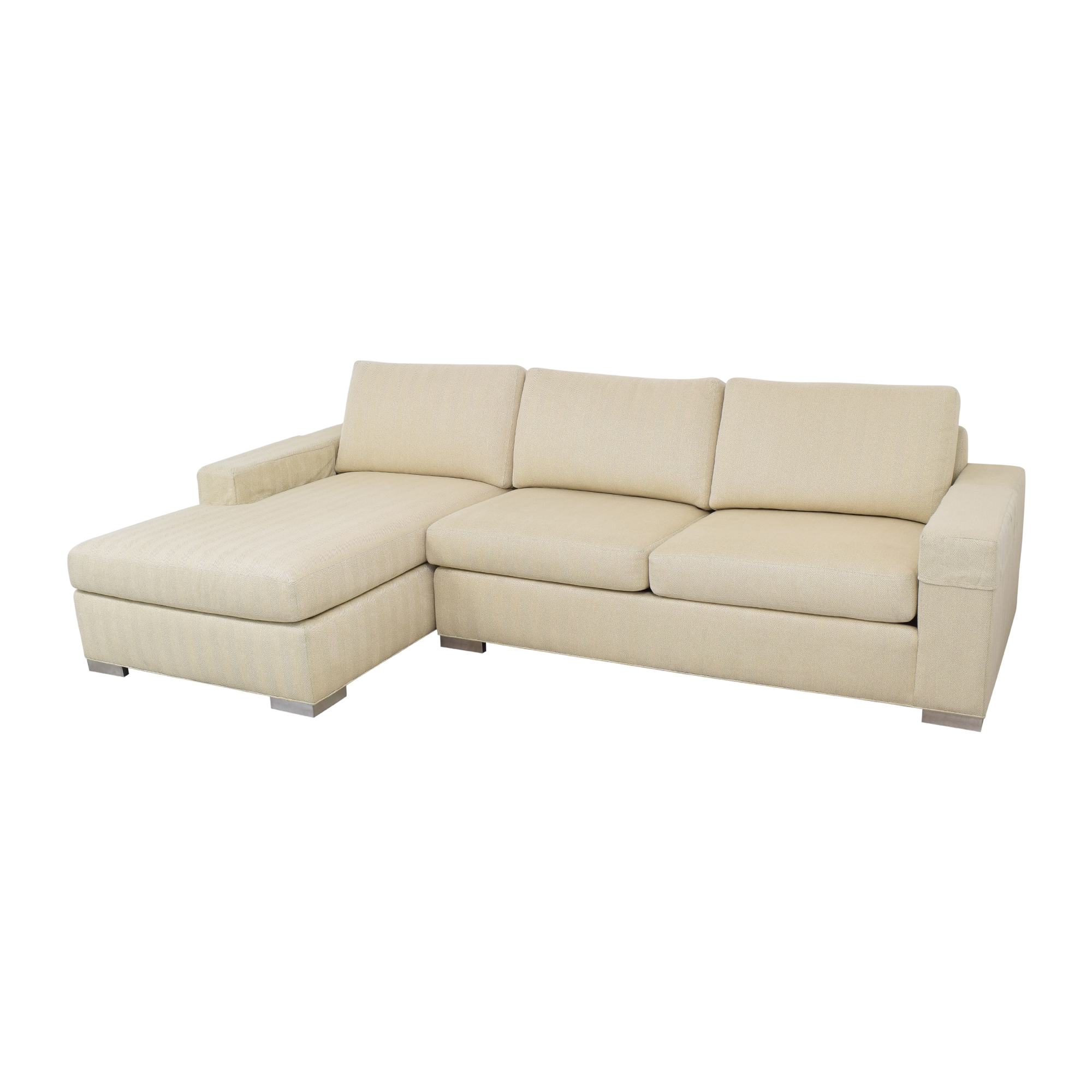 Ethan Allen Ethan Allen Conway Sectional Sofa on sale