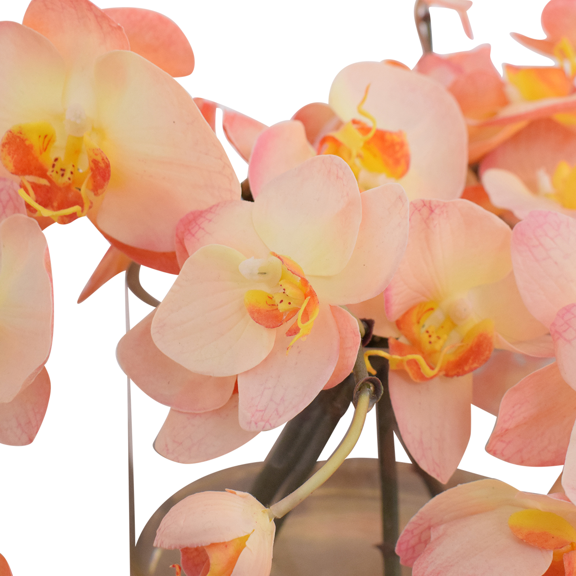 Ethan Allen Decorative Vase of Orchids / Decor