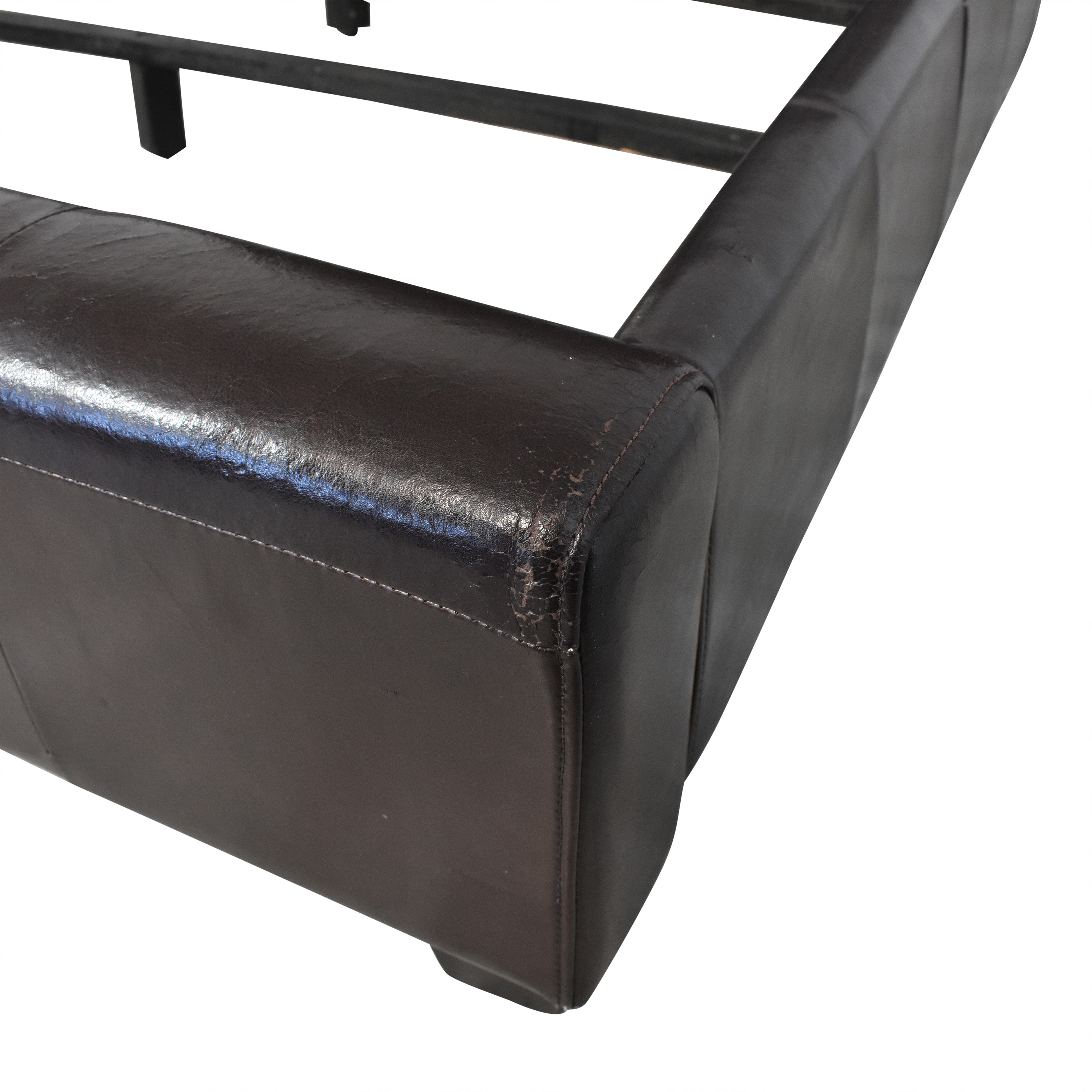 buy Macy's Tufted Leather Queen Size Bed Macy's Bed Frames